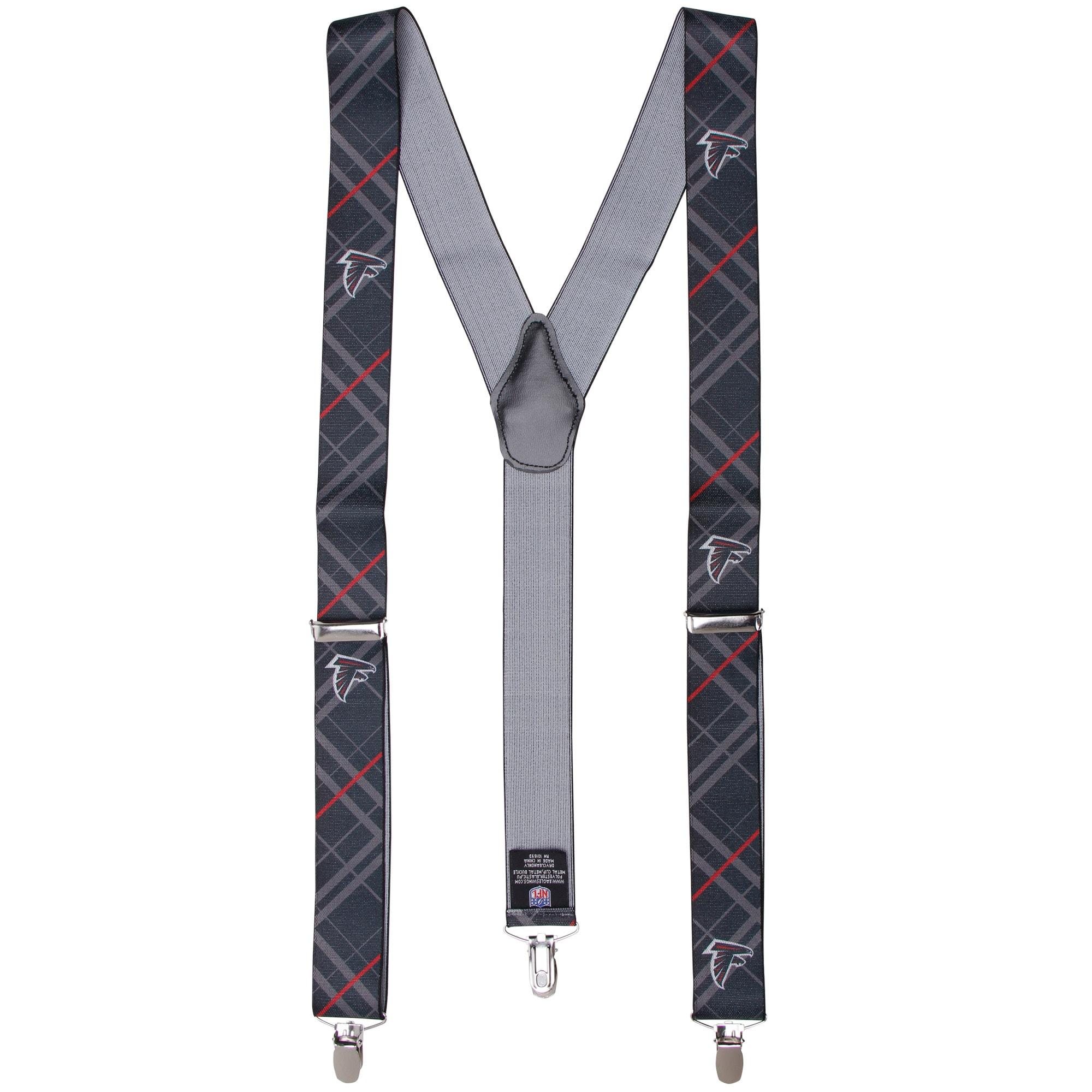Atlanta Falcons Suspenders - Black