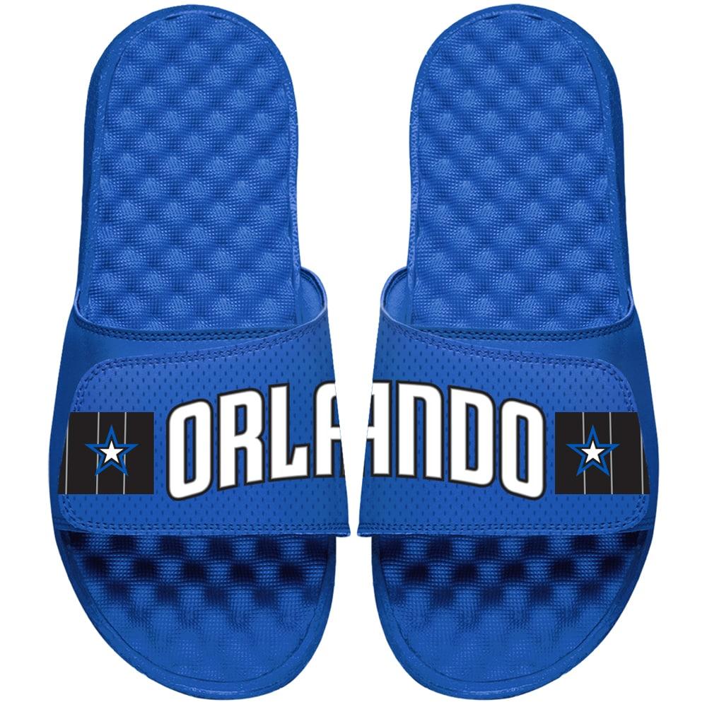 Orlando Magic ISlide Youth Statement Jersey Slide Sandals - Blue