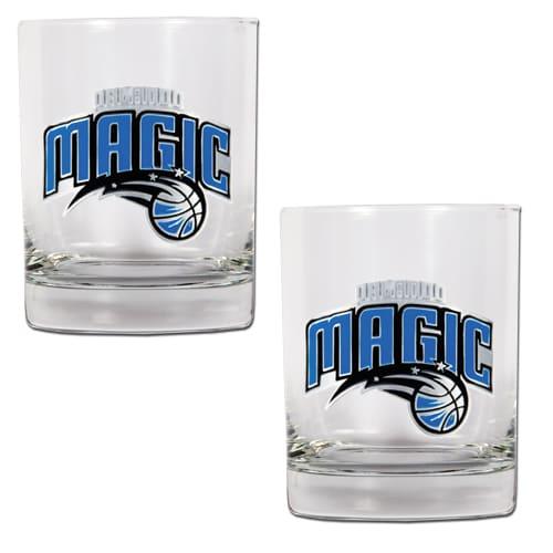 Orlando Magic 14oz. Rocks Glass Set