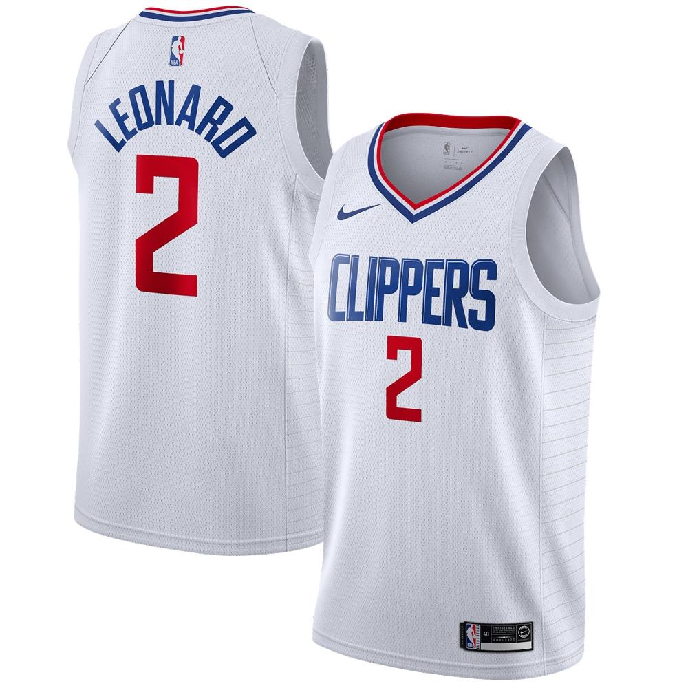 Kawhi Leonard LA Clippers Nike 2019/2020 Swingman Jersey - Association Edition - White