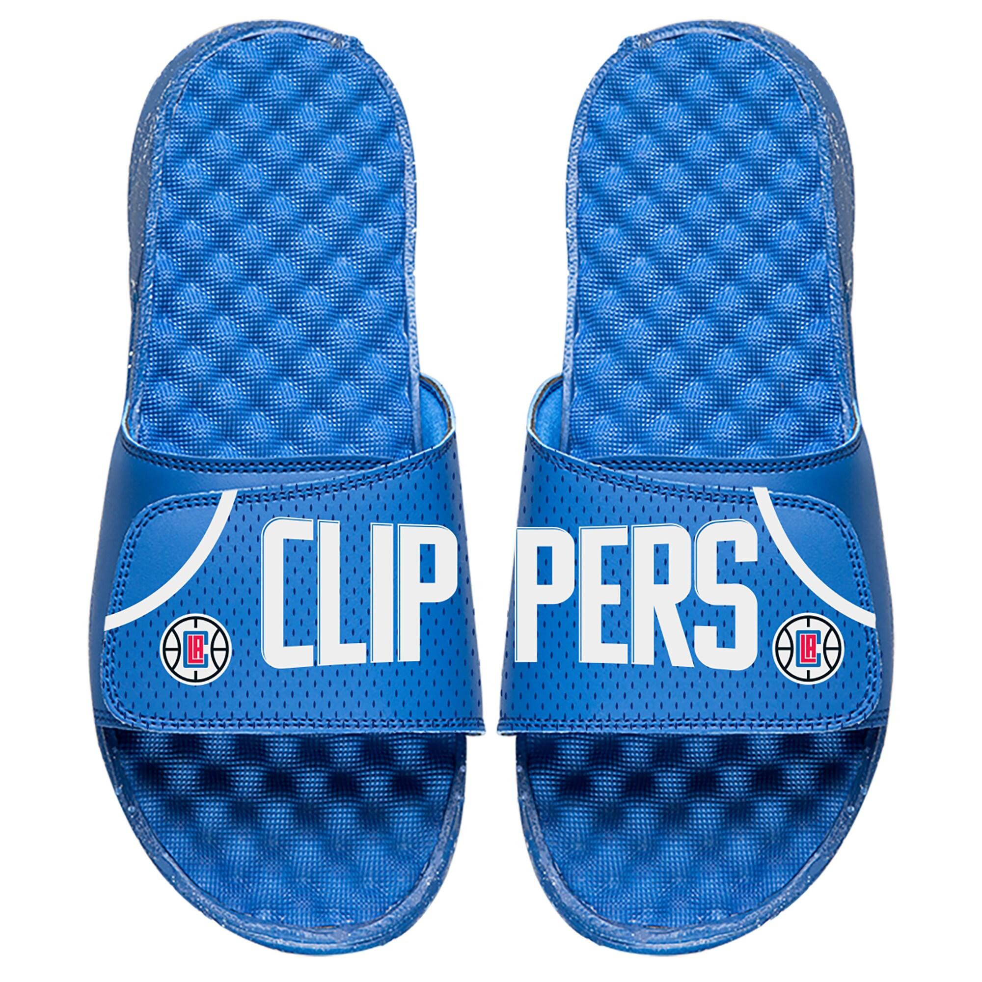 LA Clippers ISlide Away Jersey Split Slide Sandals - Royal