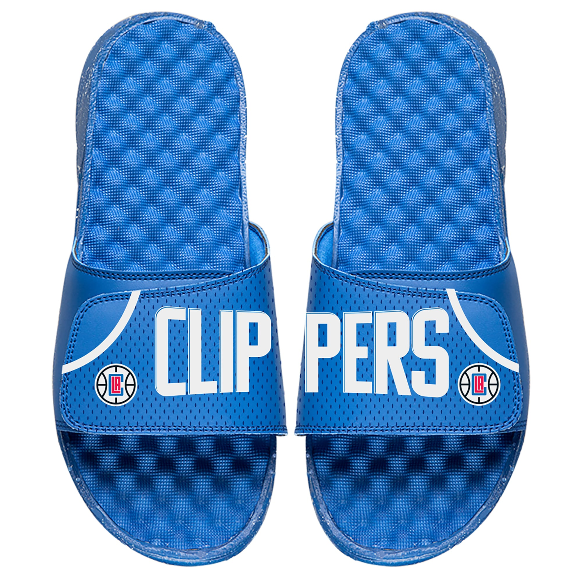 LA Clippers ISlide Youth Away Jersey Slide Sandals - Royal