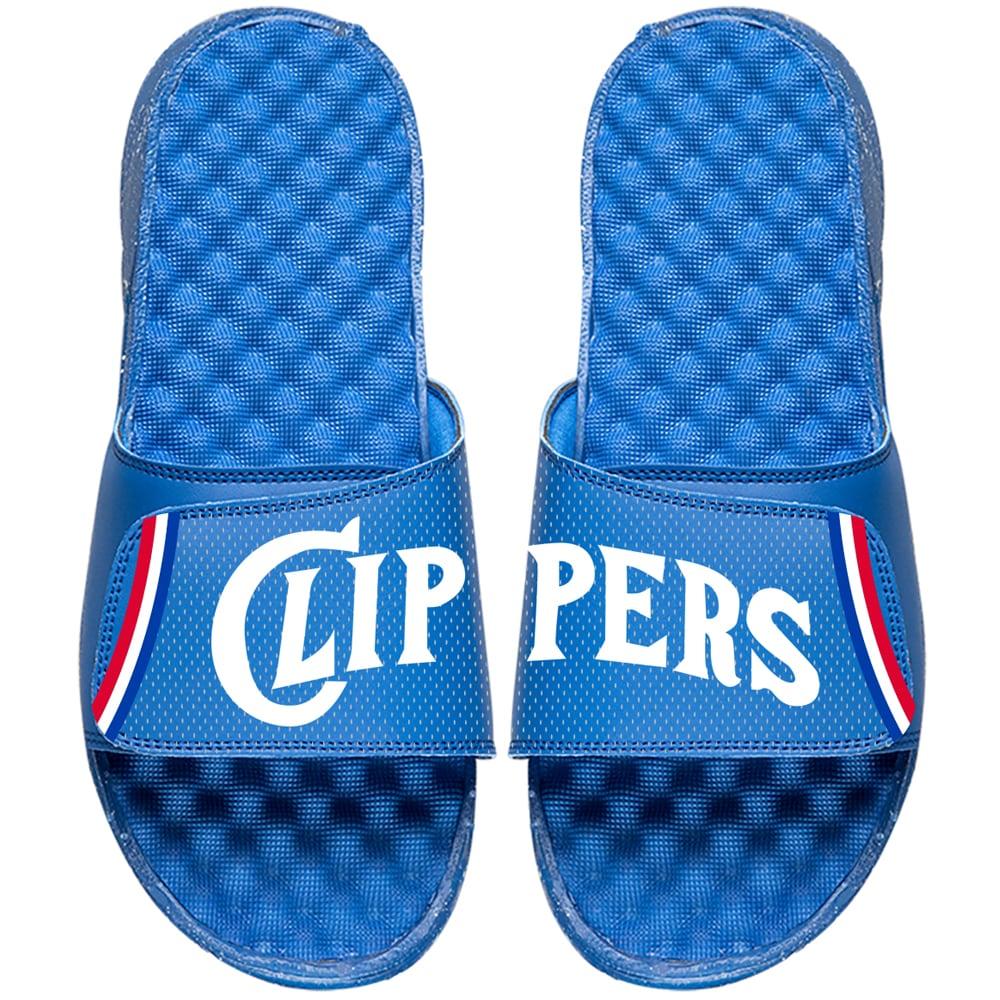 LA Clippers ISlide NBA Hardwood Classics Jersey Slide Sandals - Royal