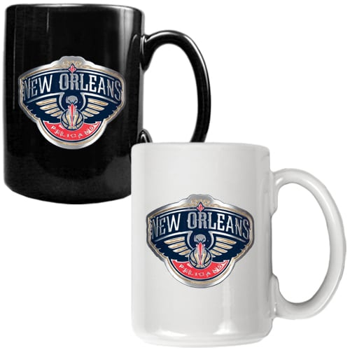 New Orleans Pelicans 15oz. Coffee Mug Set