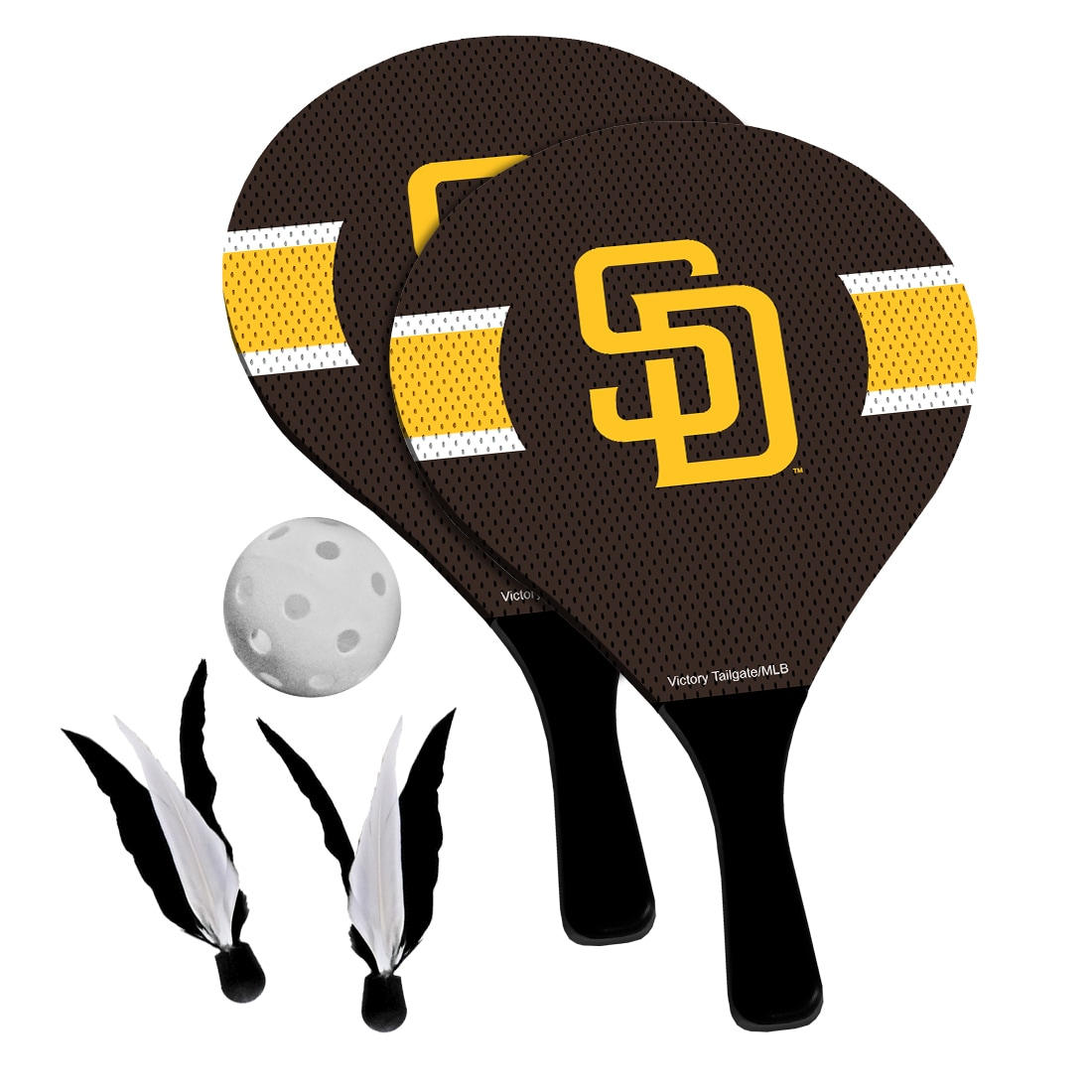 San Diego Padres 2-in-1 Birdie Pickleball Paddle Game