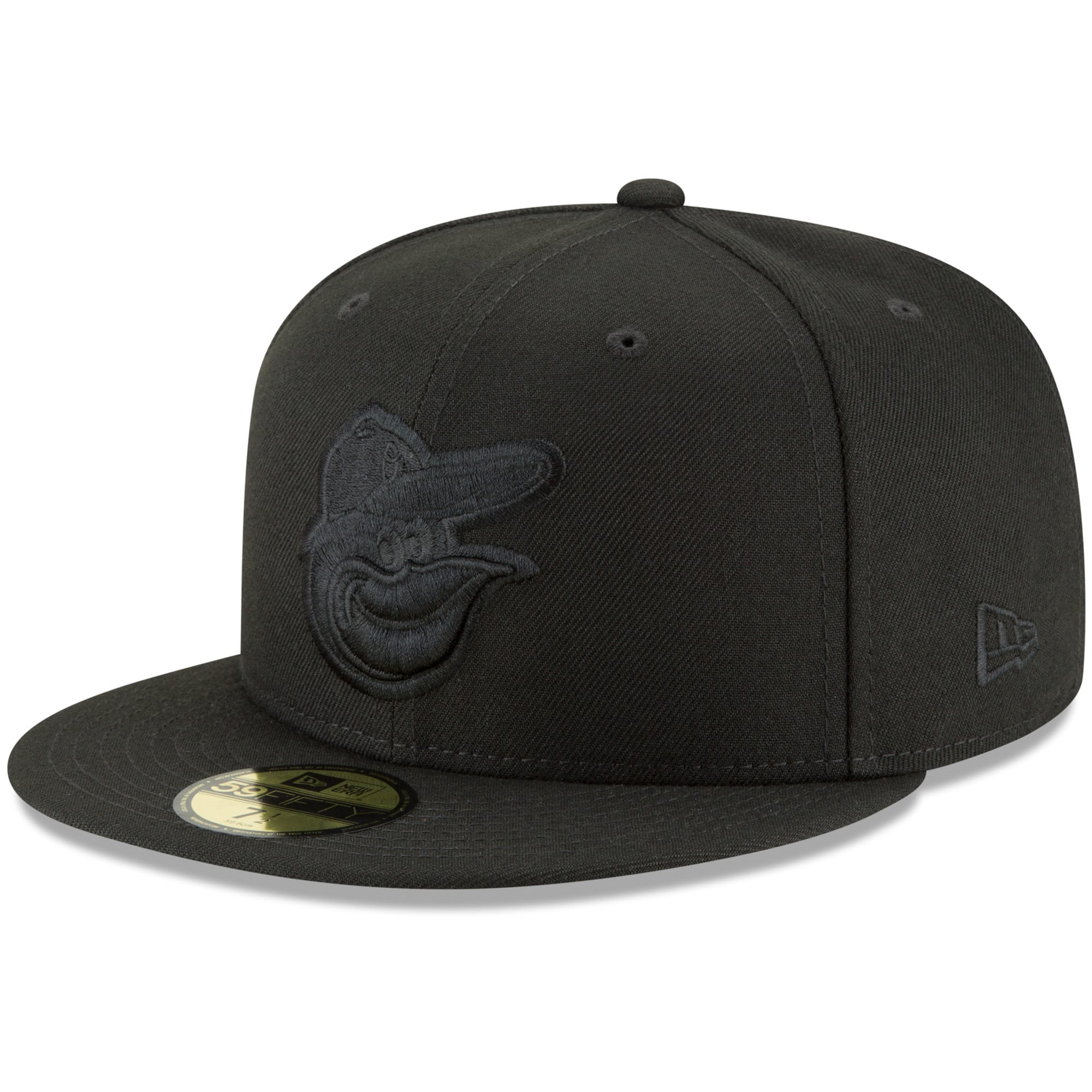 Baltimore Orioles New Era Primary Logo Basic 59FIFTY Fitted Hat - Black