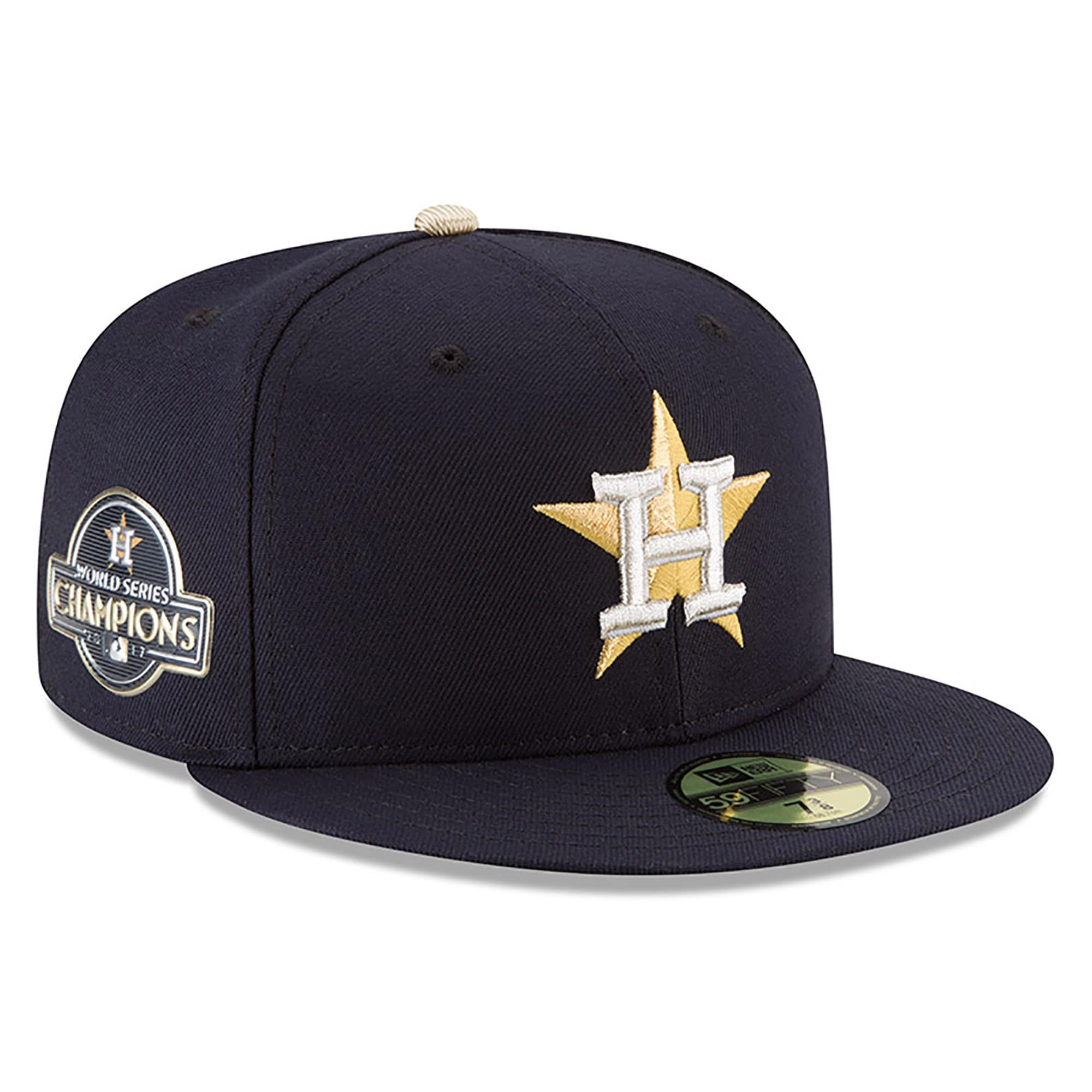 Houston Astros New Era 2018 Gold Program 59FIFTY Fitted Hat - Navy