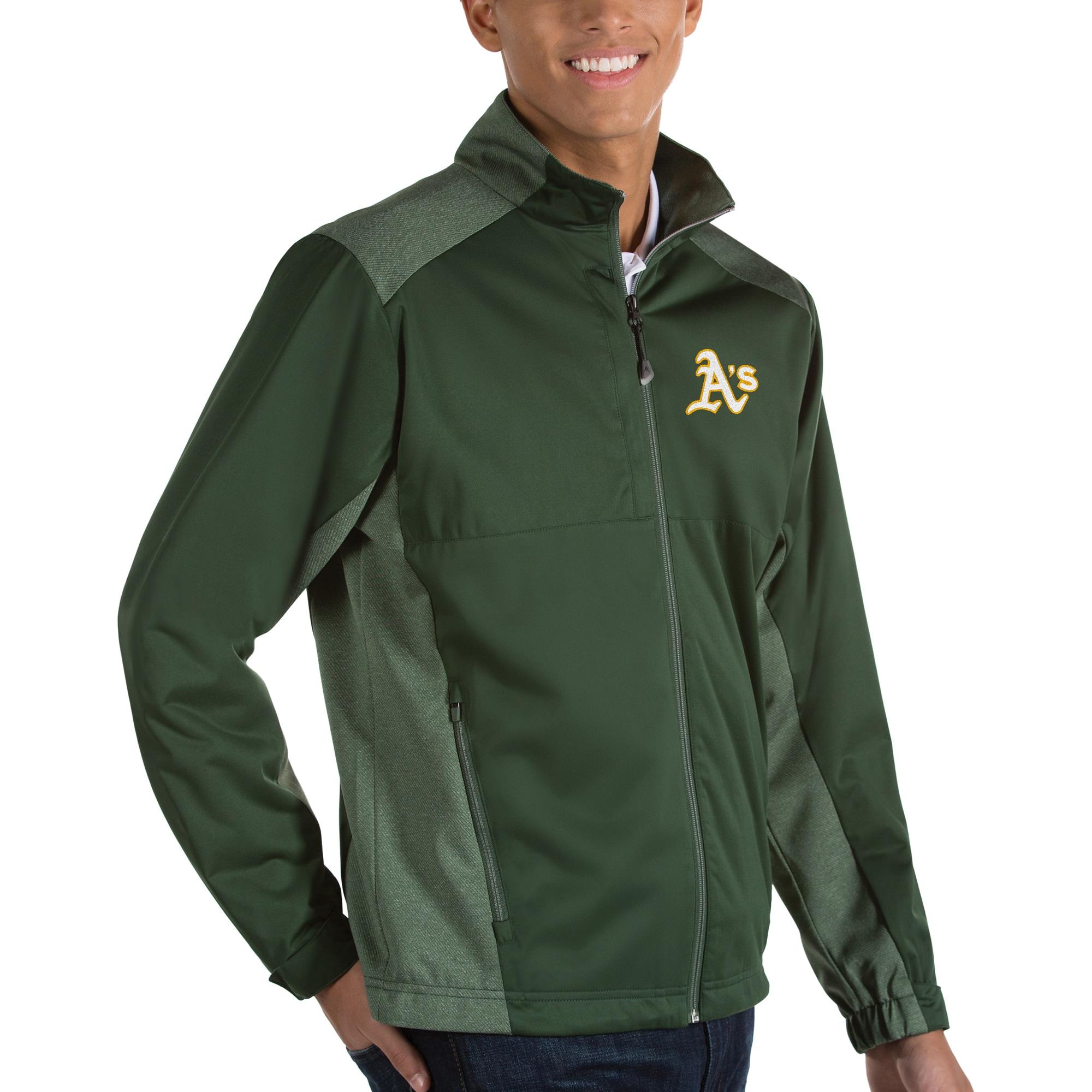 Oakland Athletics Antigua Revolve Full-Zip Jacket - Green