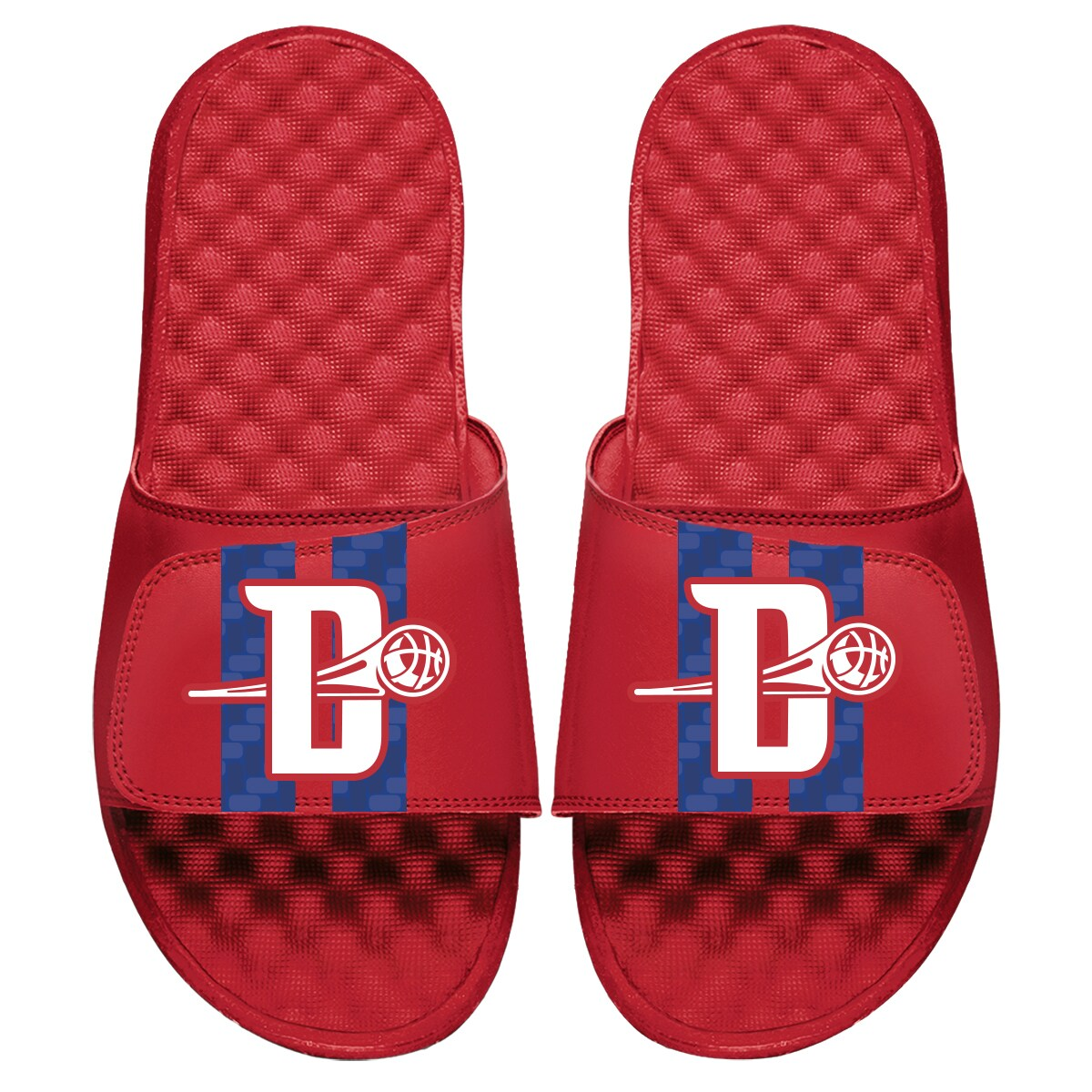 Detroit Pistons ISlide 2019/20 City Edition Slide Sandals - Red