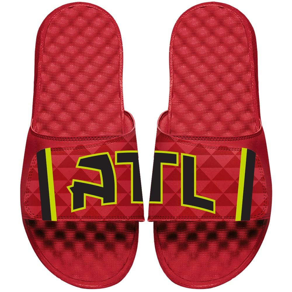 Atlanta Hawks ISlide Statement Jersey Slide Sandals - Red
