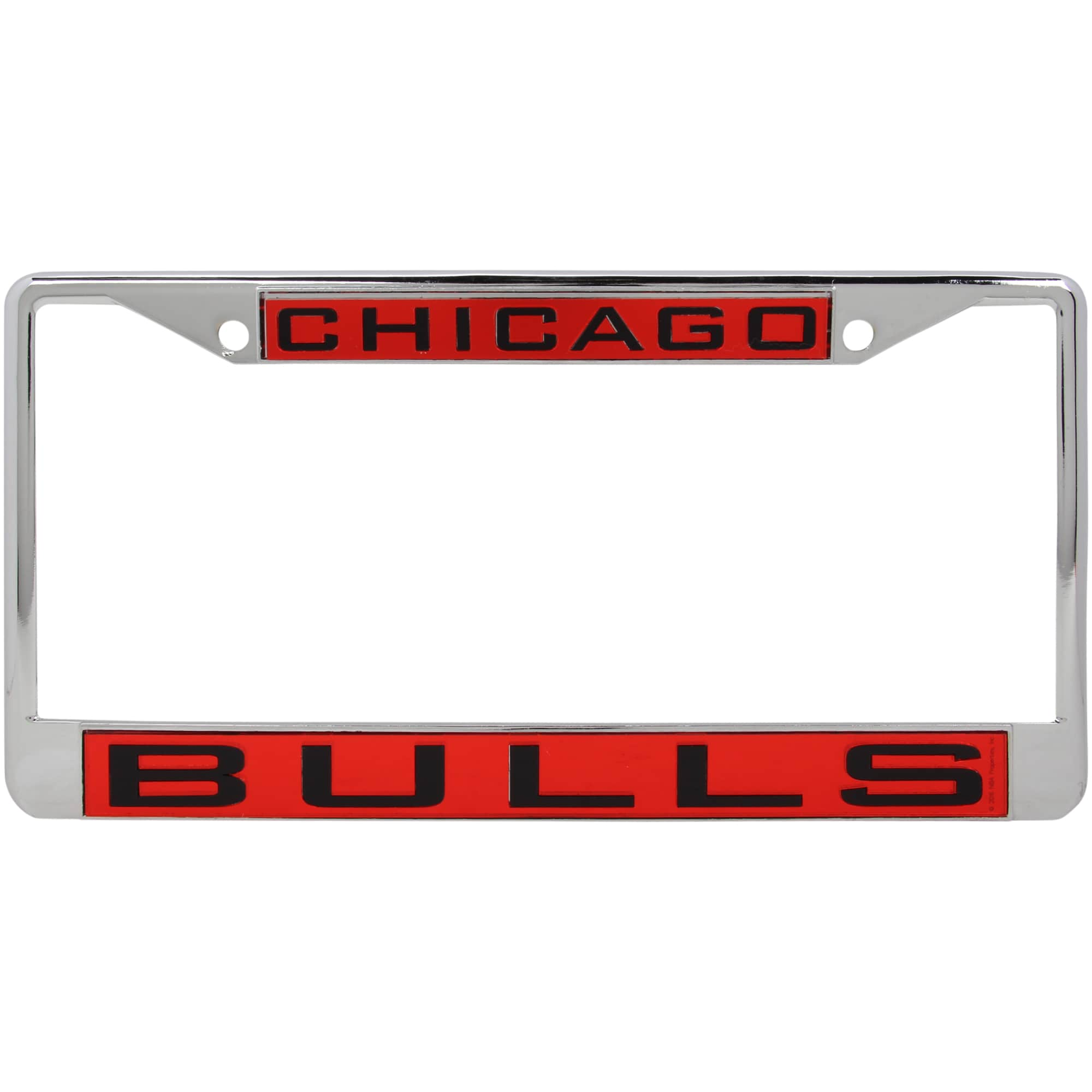 Chicago Bulls WinCraft Laser Inlaid Metal License Plate Frame