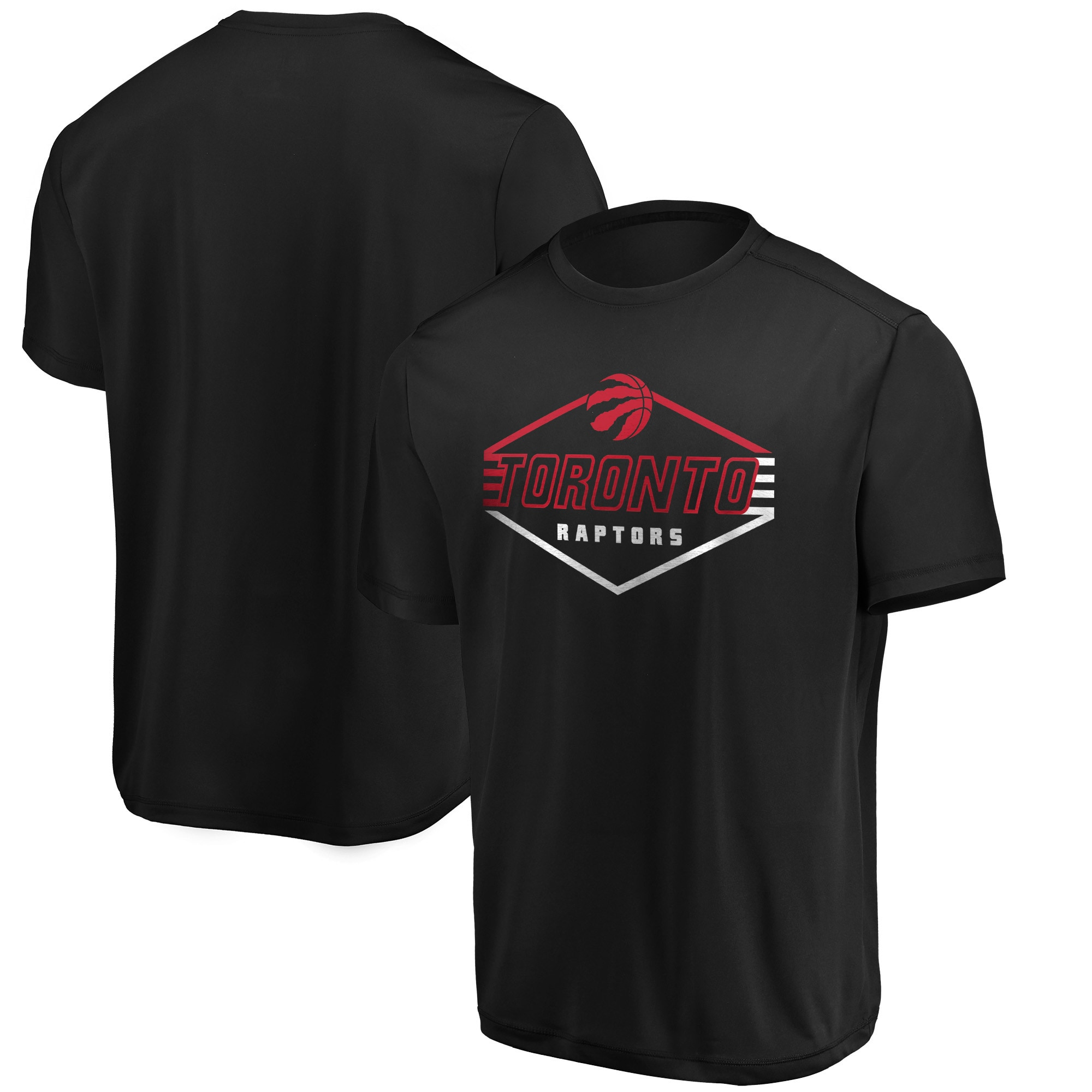 Toronto Raptors Majestic Appreciate the Journey Showtime T-Shirt - Black