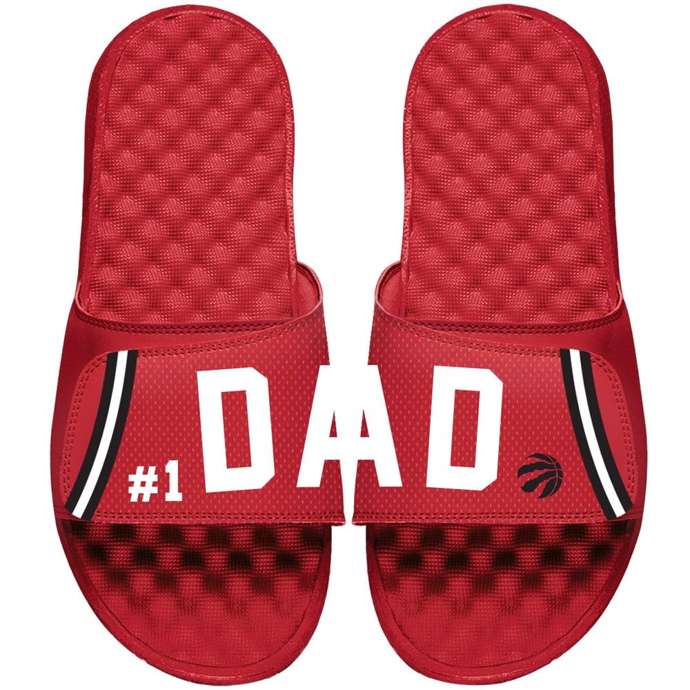 Toronto Raptors ISlide Dad Slide Sandals - Red