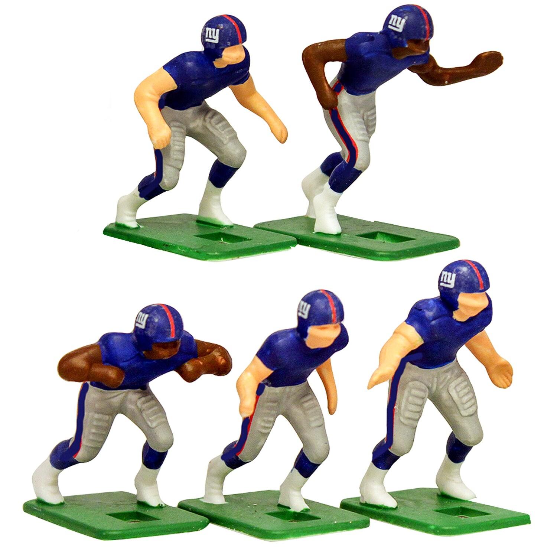 New York Giants Dark Uniform Action Figures Set