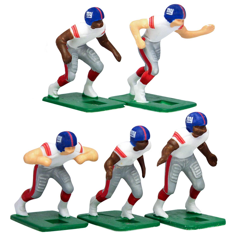 New York Giants White Uniform Action Figures Set