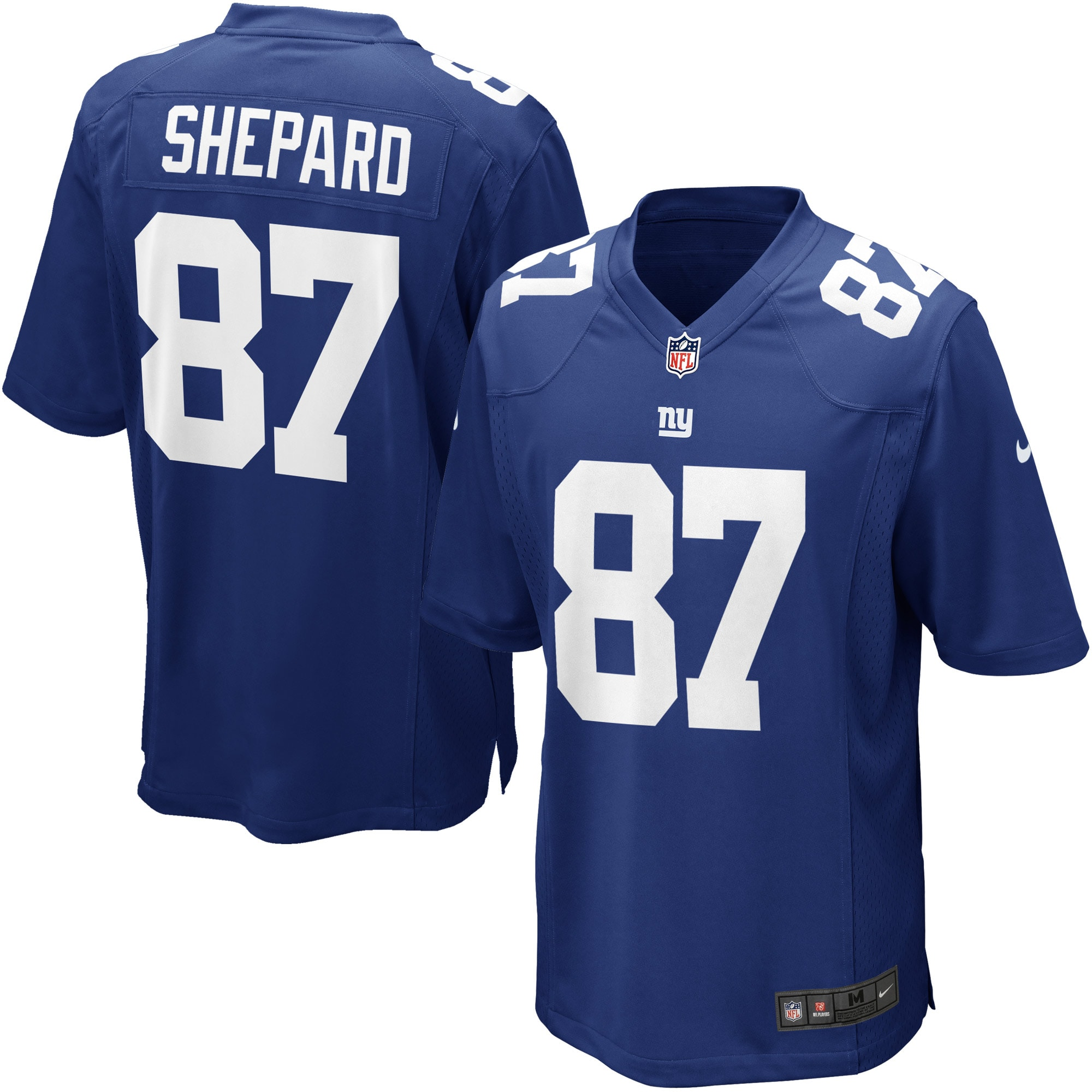 Sterling Shepard New York Giants Nike Game Player Jersey - Royal