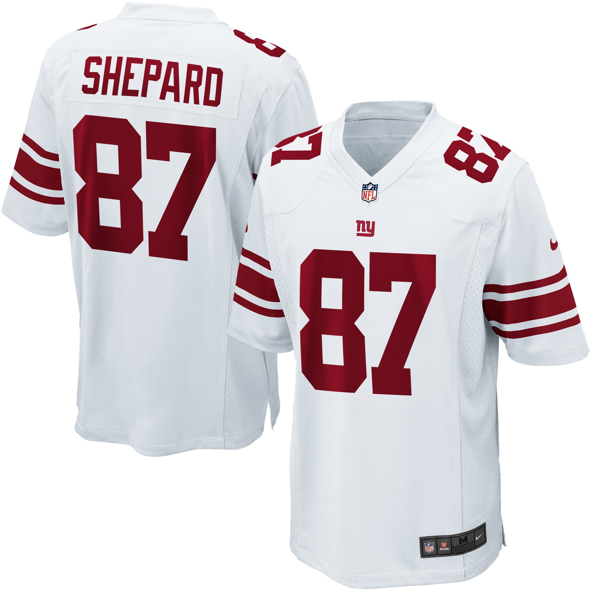 Sterling Shepard New York Giants Nike Game Jersey - White