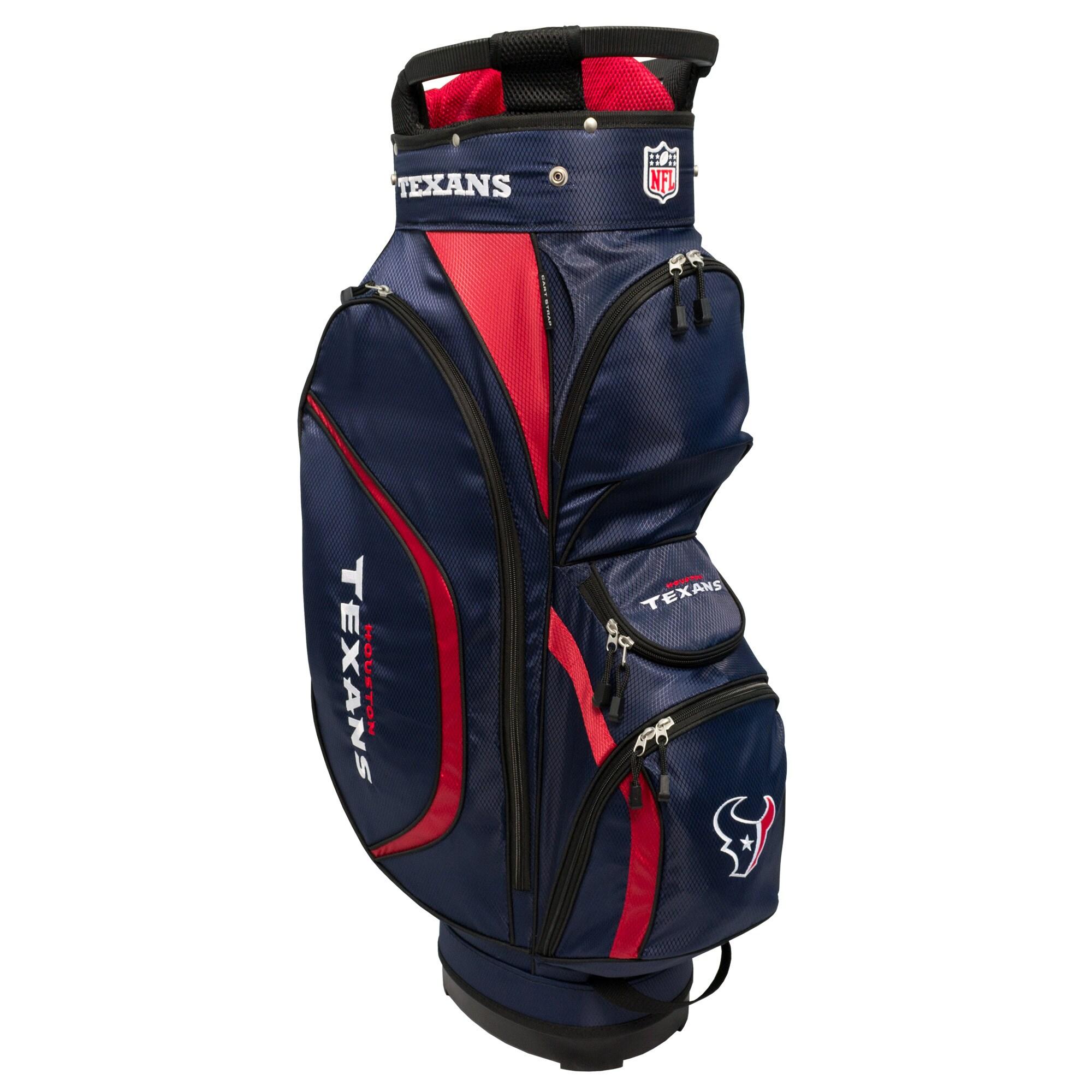 Houston Texans Clubhouse Golf Cart Bag