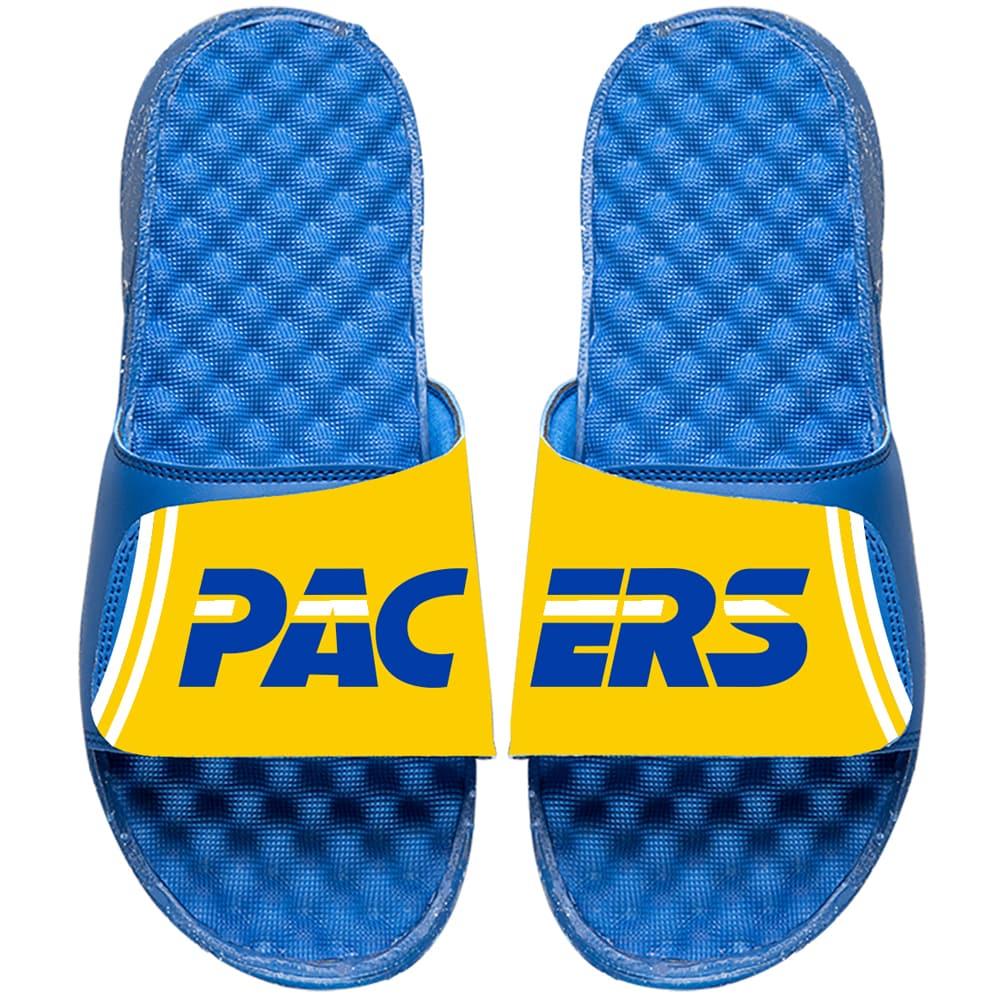 Indiana Pacers ISlide NBA Hardwood Classics Jersey Slide Sandals - Royal