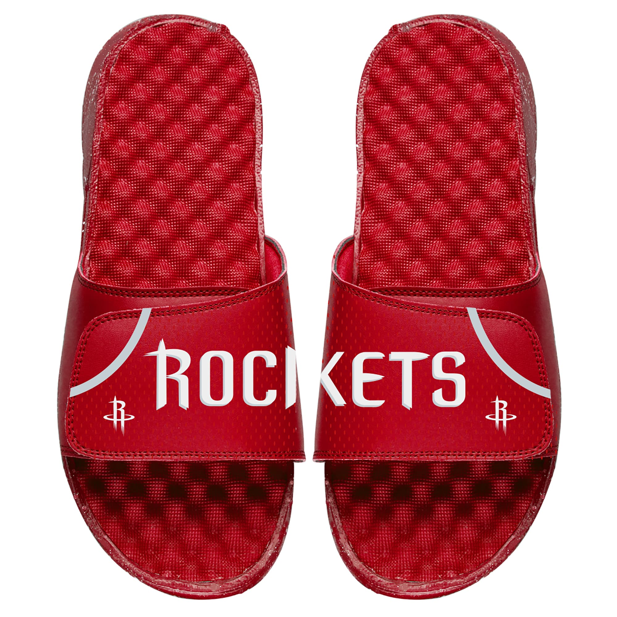 Houston Rockets ISlide Youth Away Jersey Slide Sandals - Red