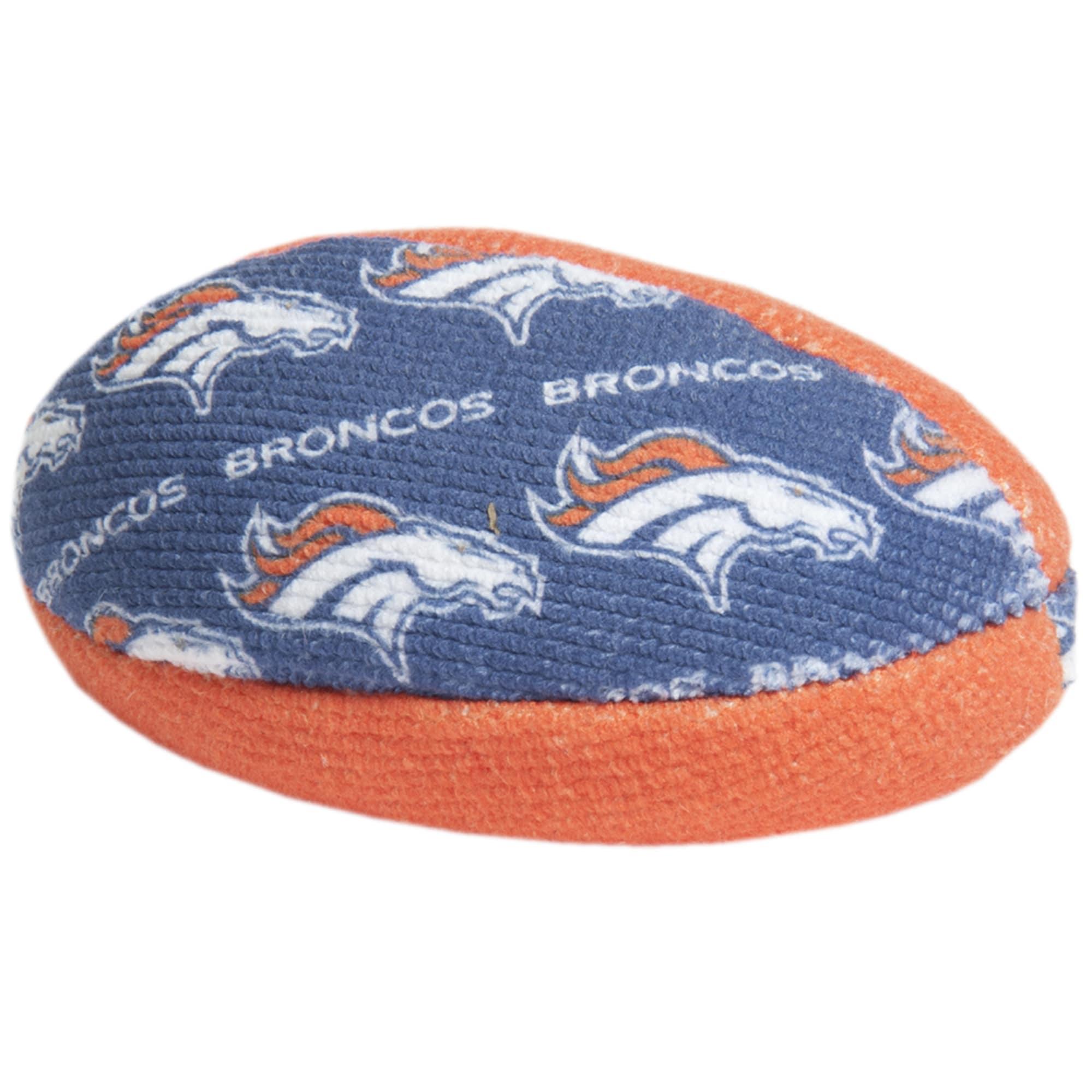 Denver Broncos Football Shaped Bowling Grip Bag - Navy