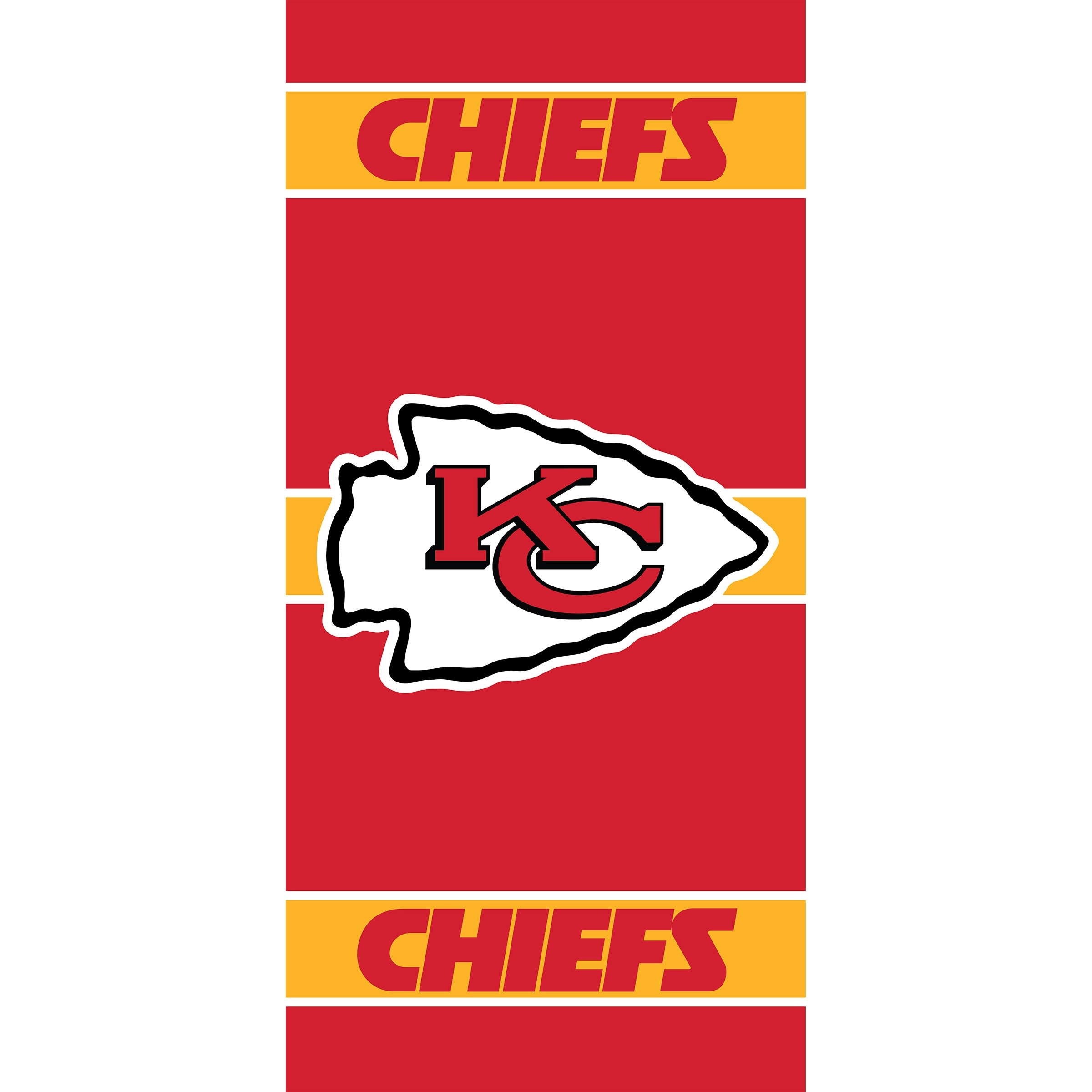 Kansas City Chiefs Imperial 36'' x 80'' Front Door Cover