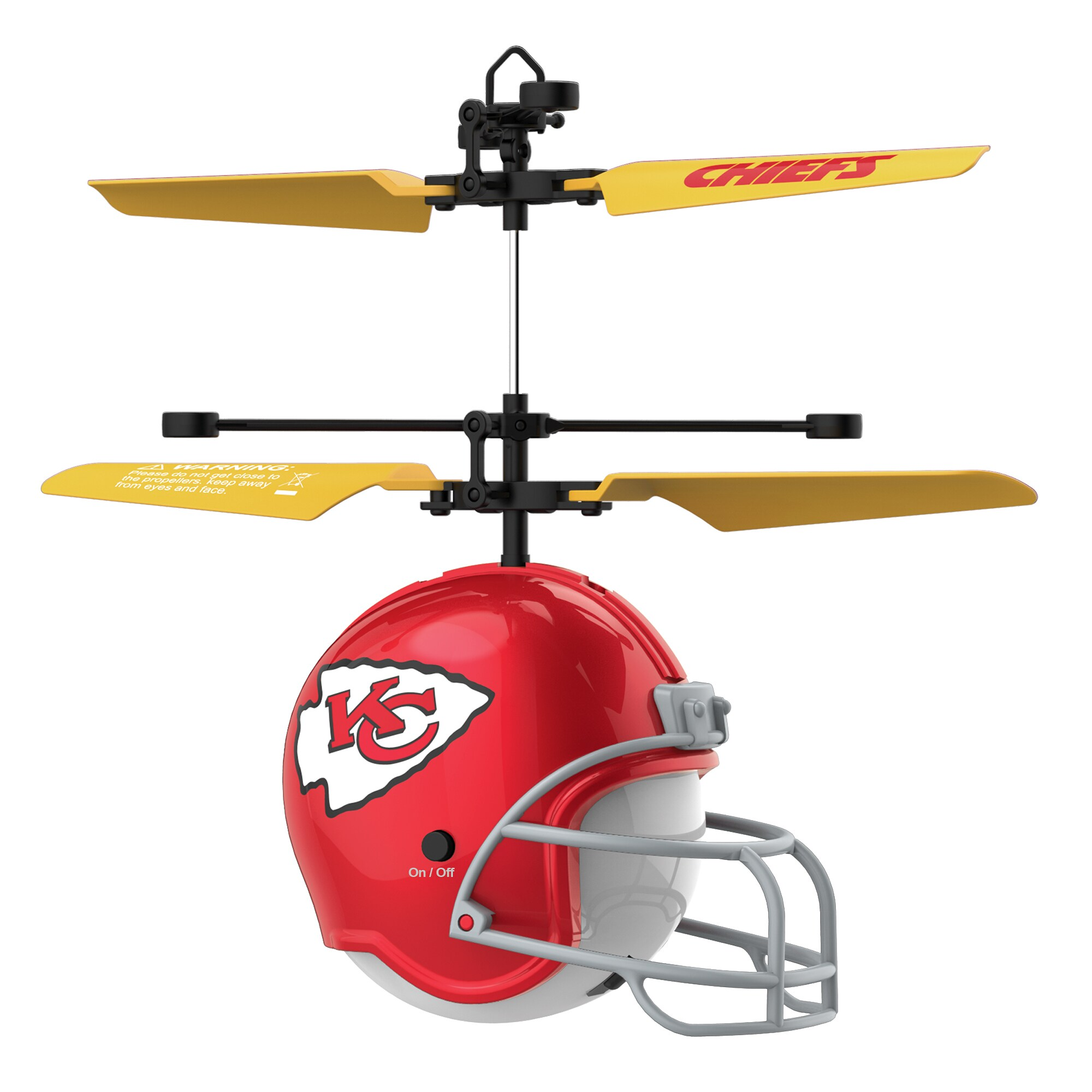 Kansas City Chiefs Remote Control Helmet Flyer