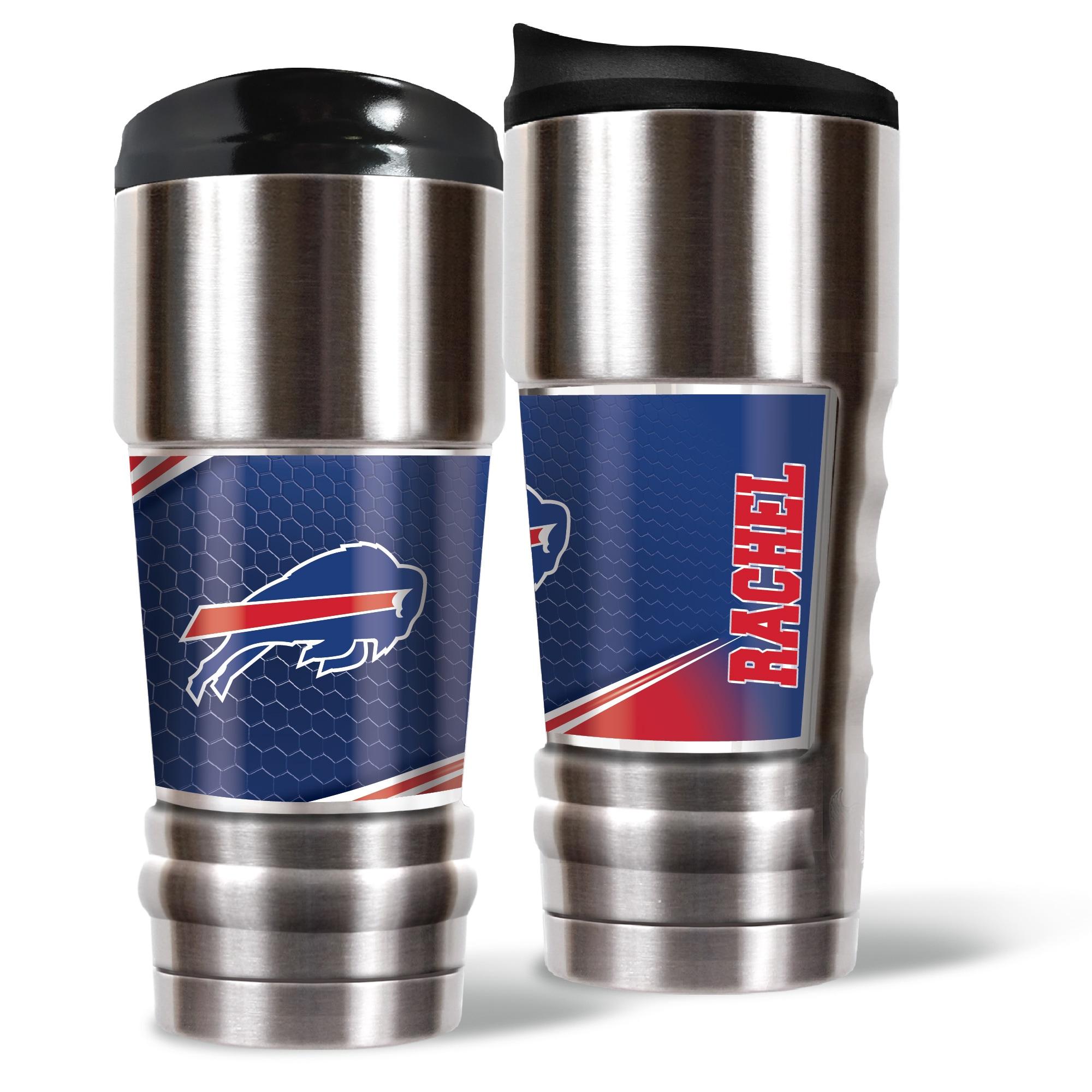 Buffalo Bills 18oz. Personalized MVP Tumbler