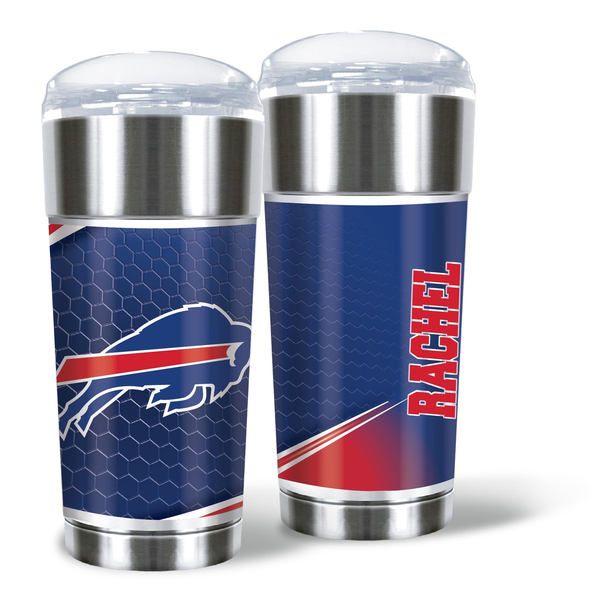 Buffalo Bills 24oz. Personalized Eagle Tumbler
