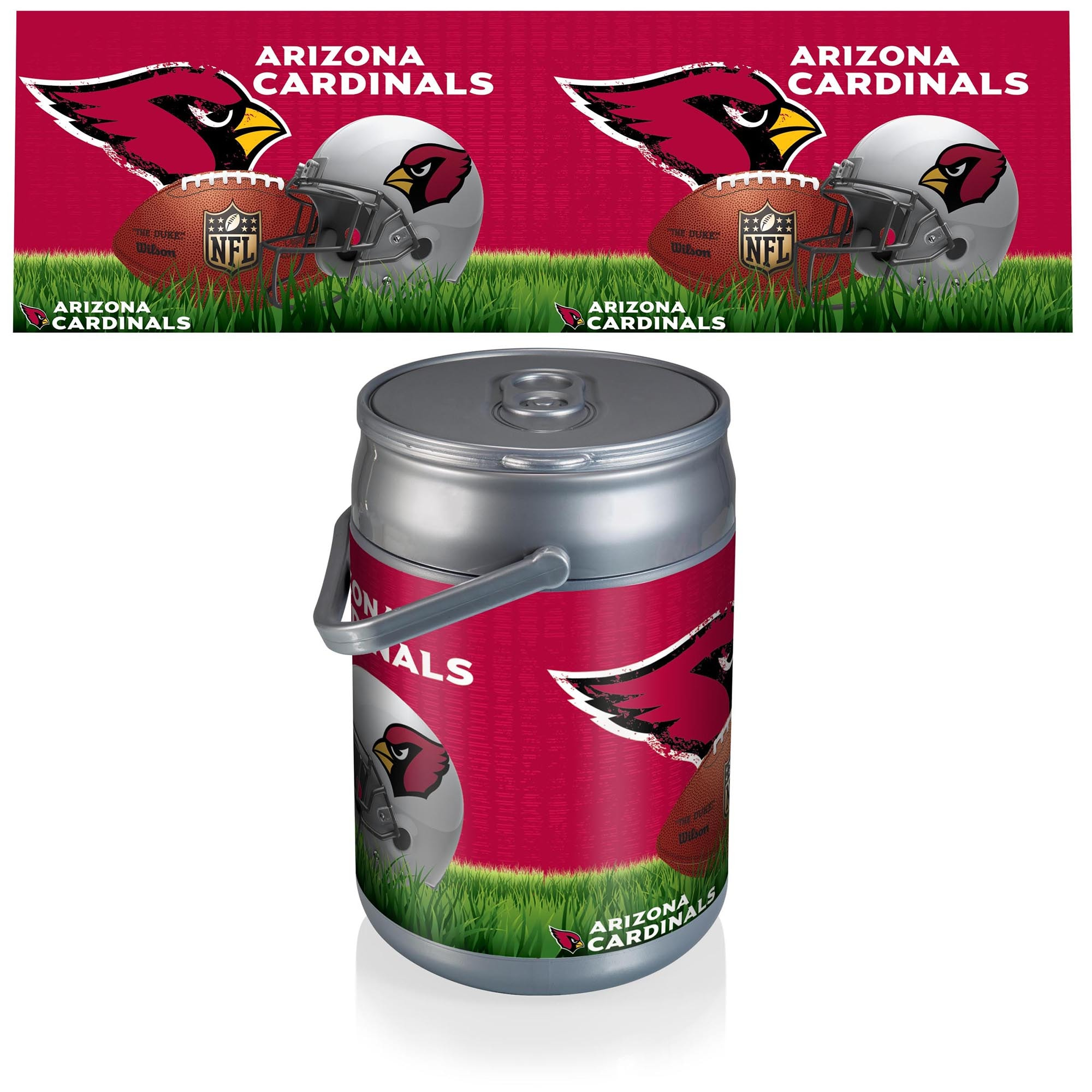 Arizona Cardinals Football Can Cooler