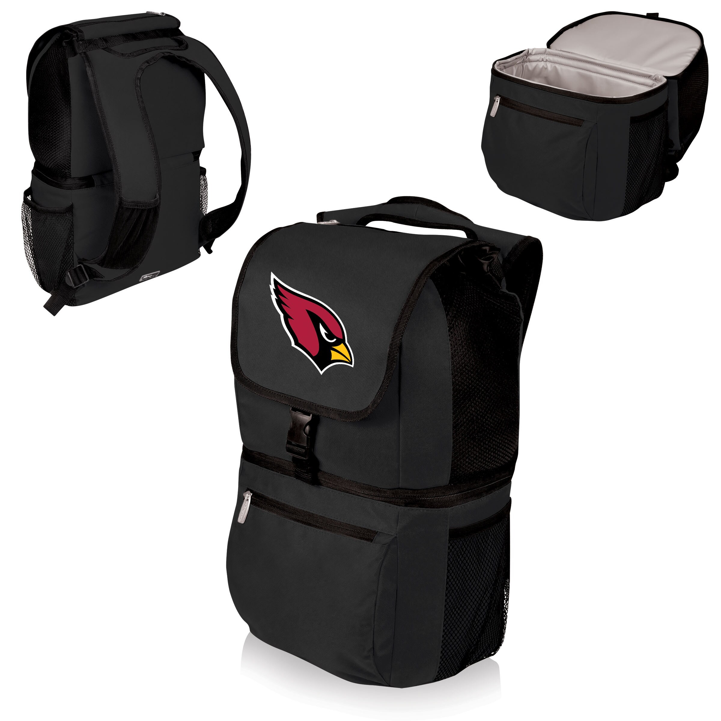 Arizona Cardinals Zuma Cooler Backpack - Black