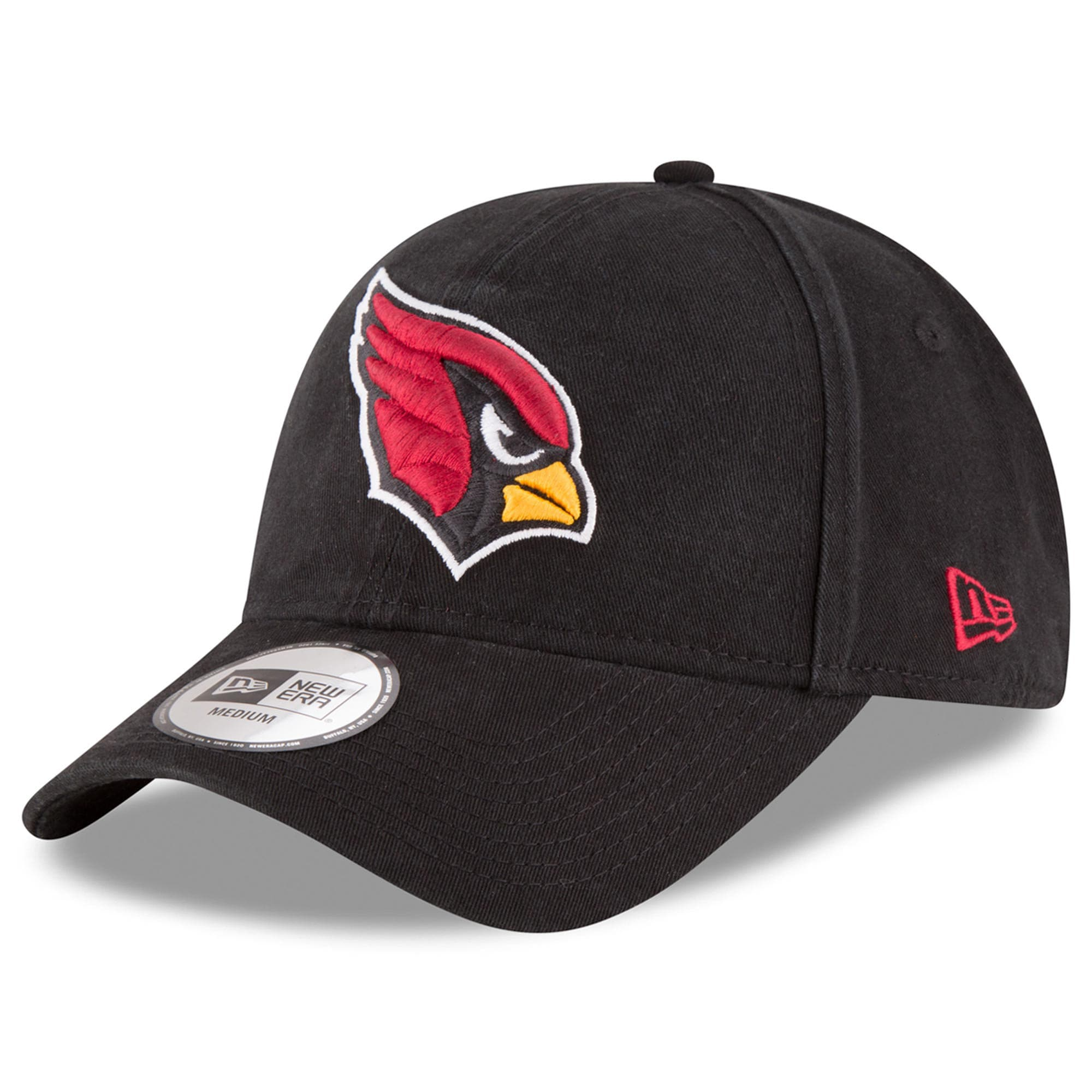 Arizona Cardinals New Era NE Core Fit 49FORTY Fitted Hat - Black