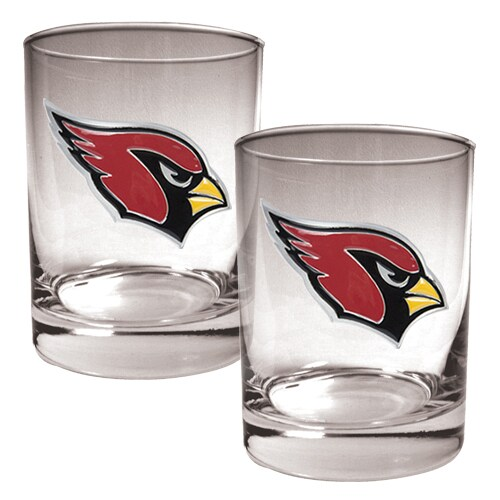 Arizona Cardinals 14oz. Rocks Glass Set