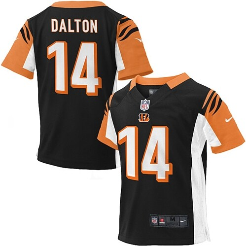 Andy Dalton Cincinnati Bengals Nike Preschool Game Jersey - Black