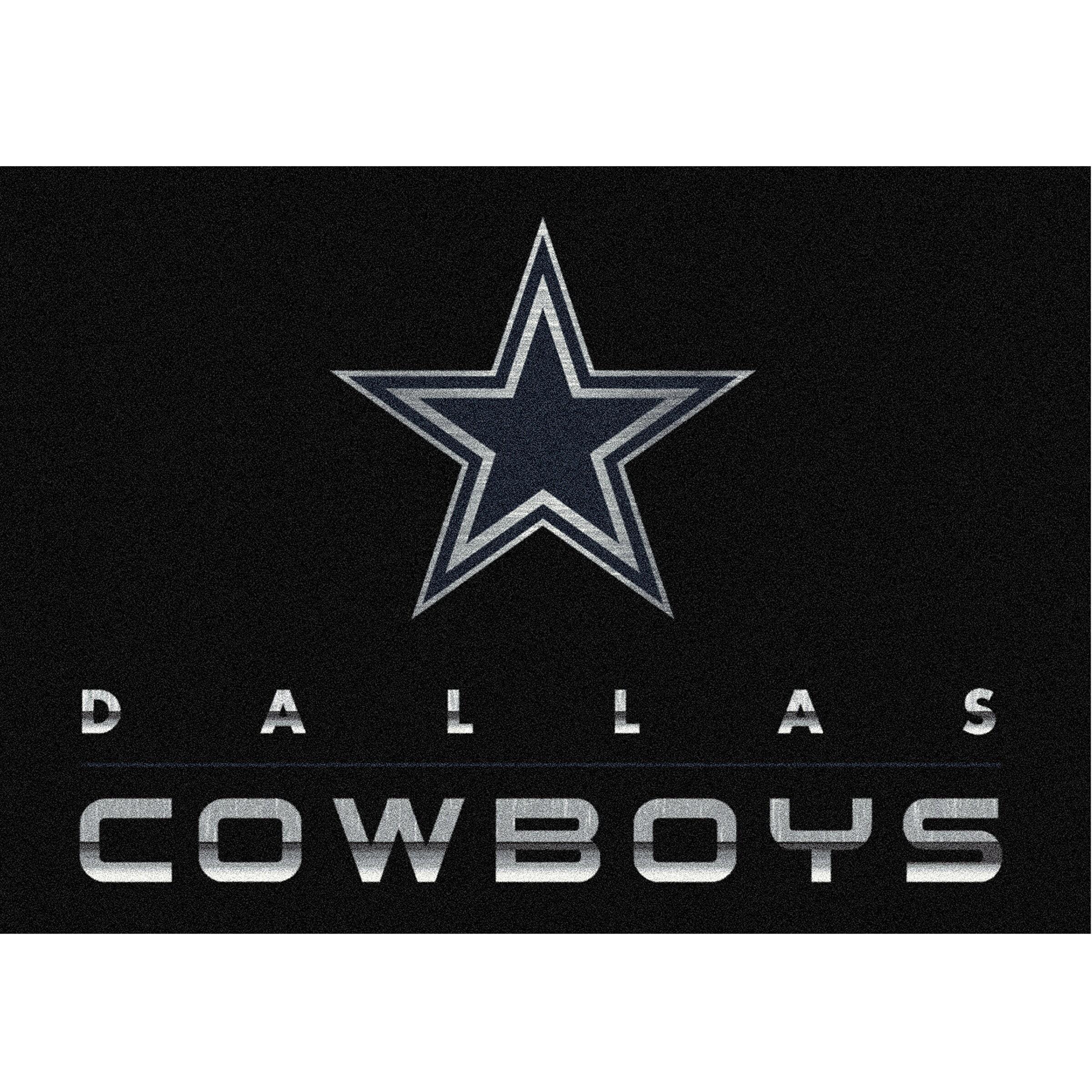 Dallas Cowboys Imperial 3'10'' x 5'4'' Chrome Rug