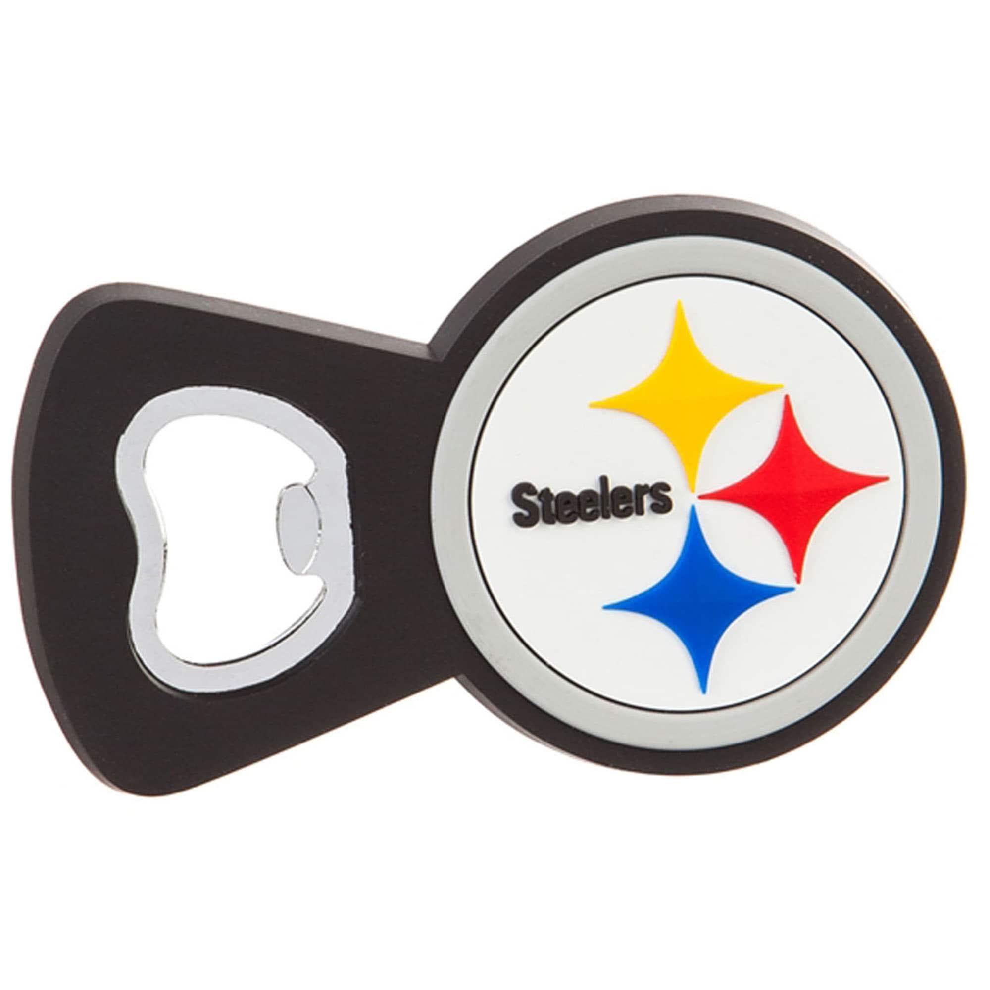 Pittsburgh Steelers Team Magnet Bottle Opener
