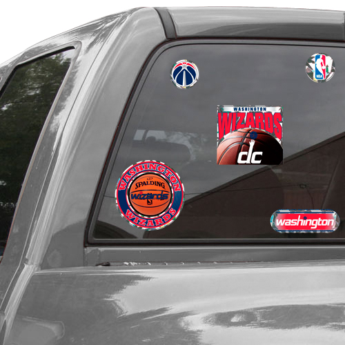 Washington Wizards WinCraft Prismatic Decal Sheet