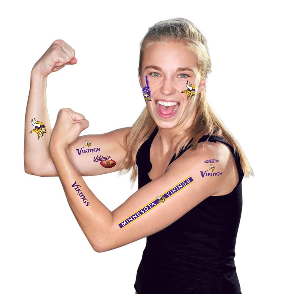 Minnesota Vikings WinCraft Temporary Tattoo -