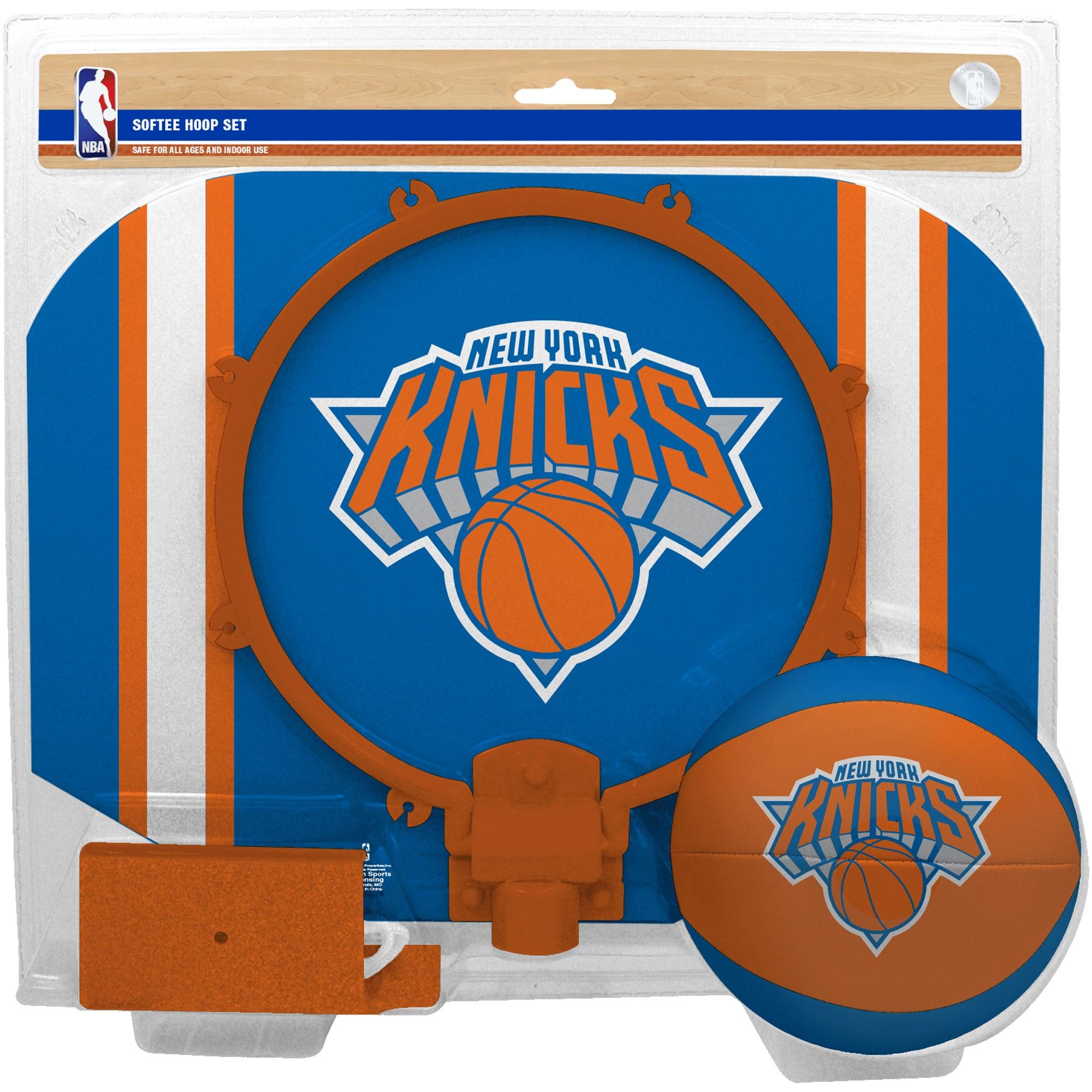 New York Knicks Rawlings Softee Hoop & Ball Set