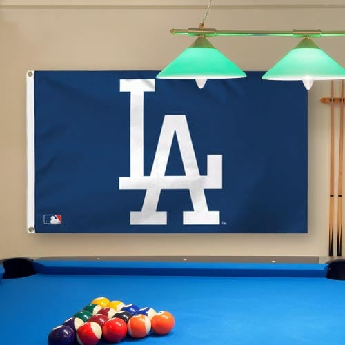 Los Angeles Dodgers WinCraft Team Logo Deluxe 3' x 5' Flag