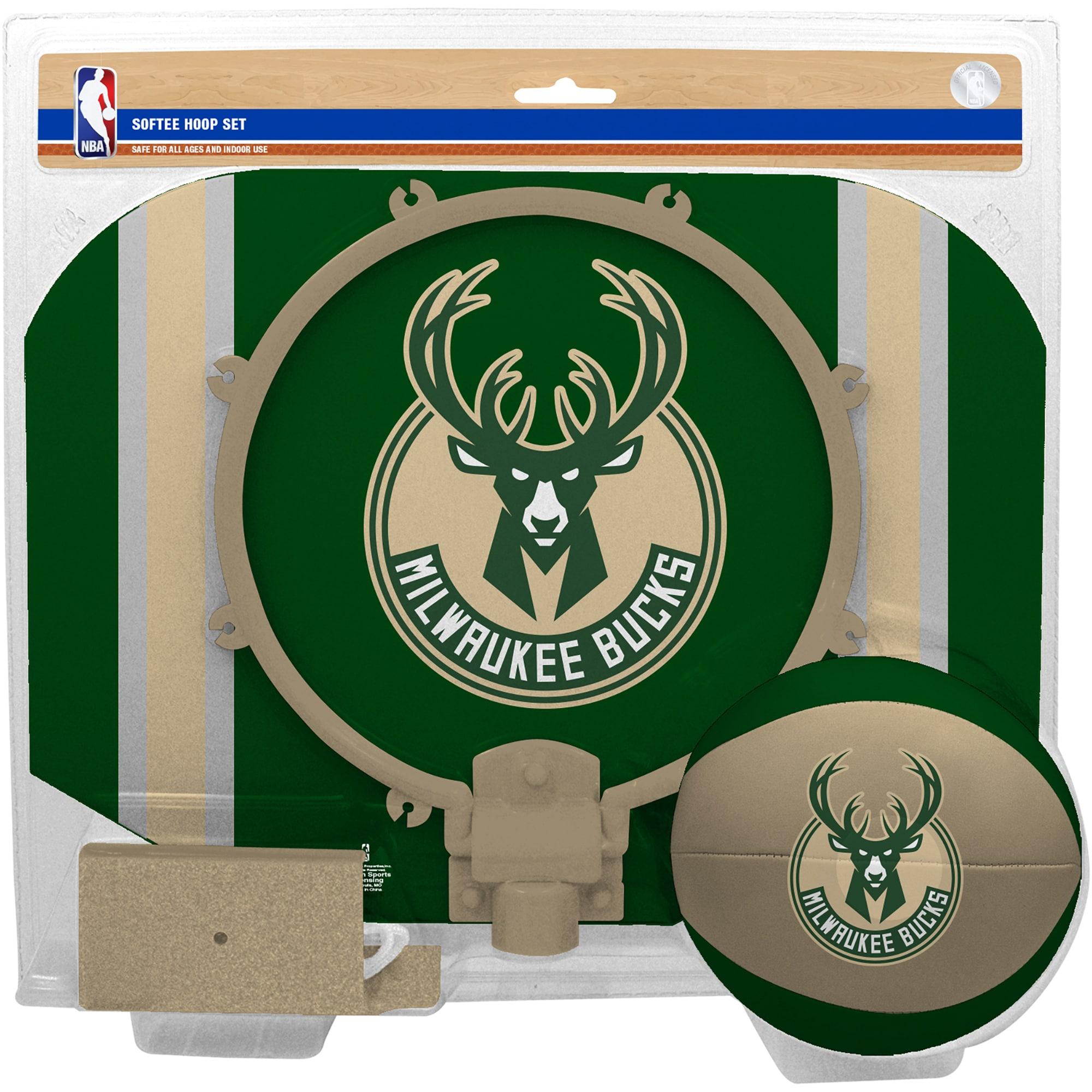 Milwaukee Bucks Rawlings Softee Hoop & Ball Set