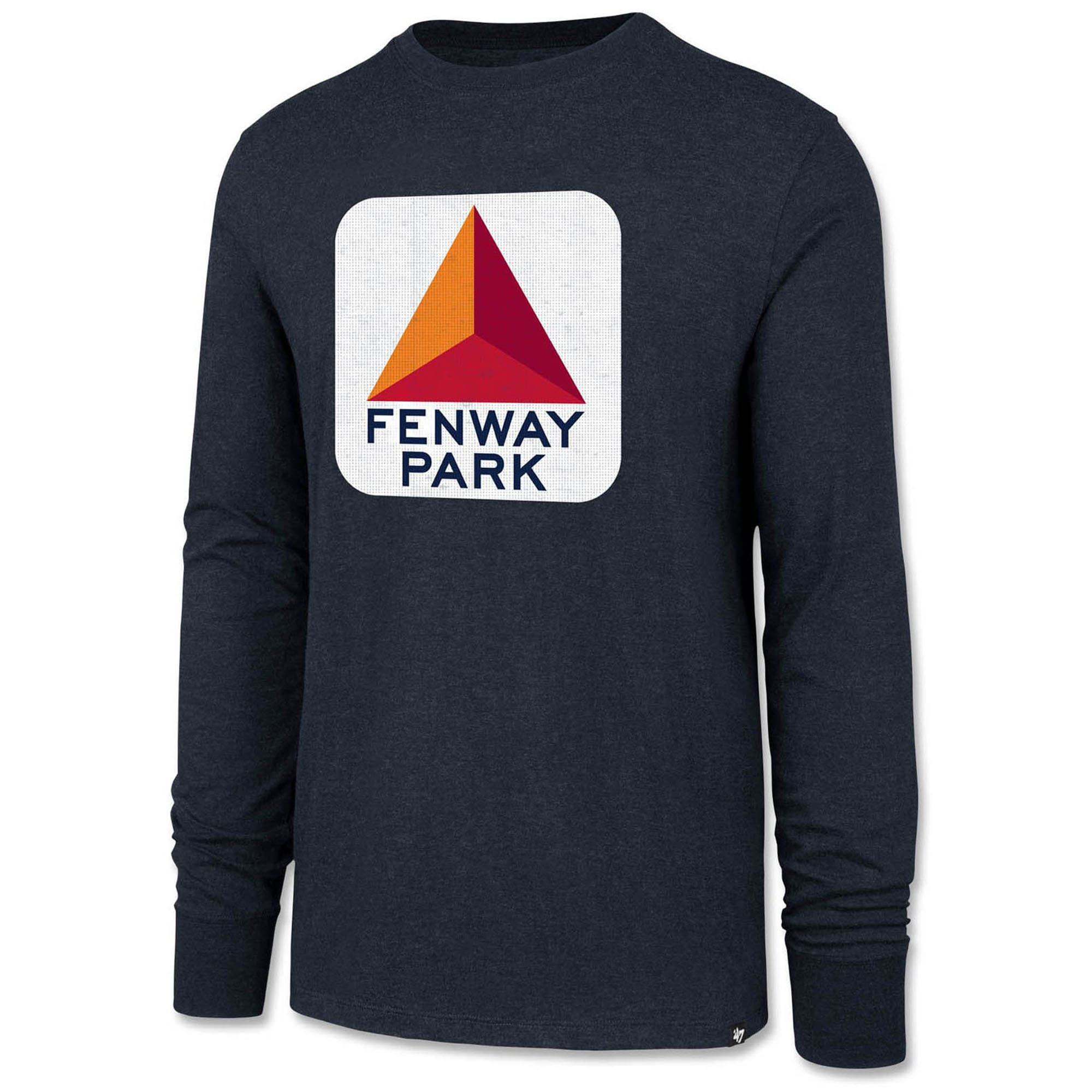 Boston Red Sox '47 Citgo Fenway Park Club Long Sleeve T-Shirt - Navy