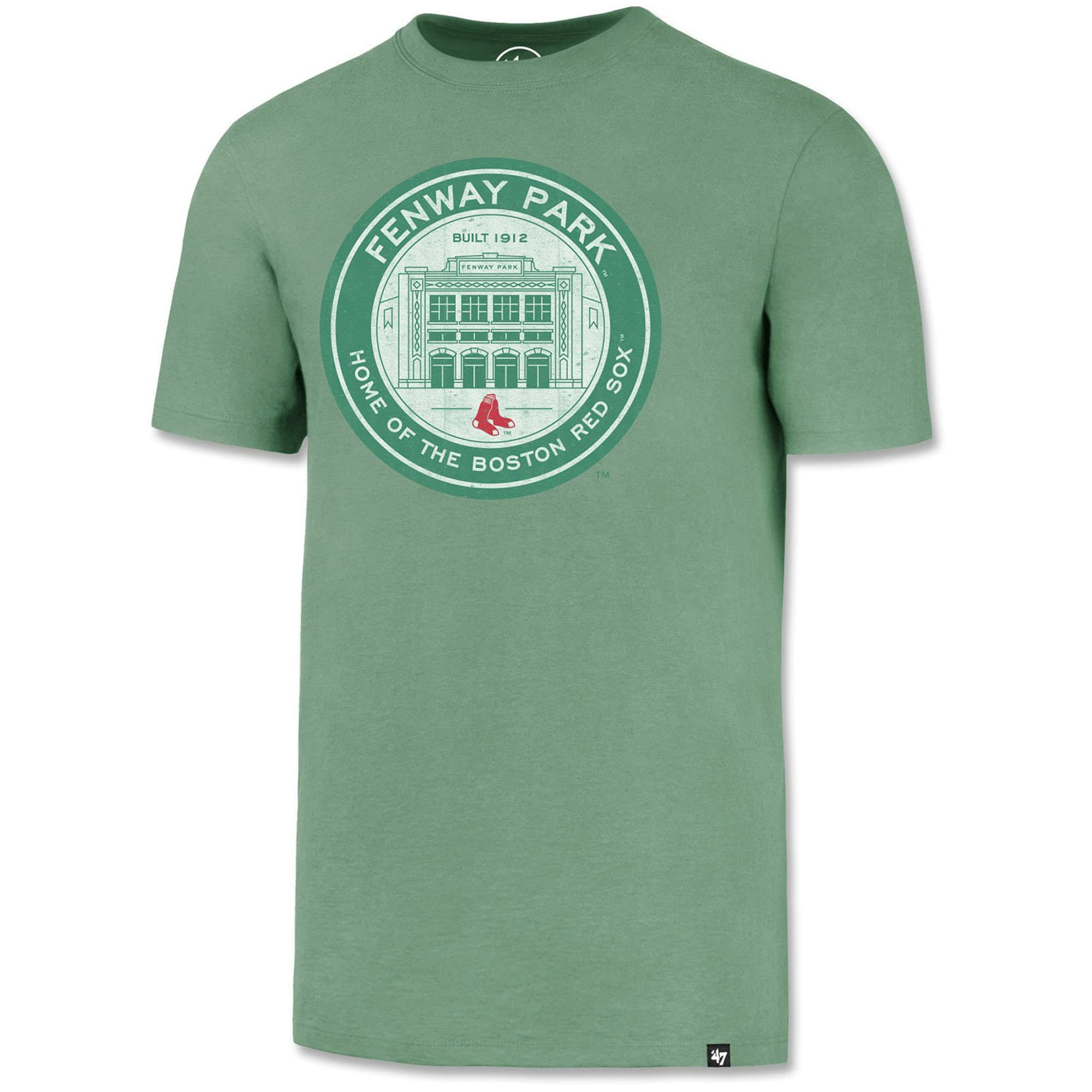 Boston Red Sox '47 Fenway Park Coin Logo T-Shirt - Green
