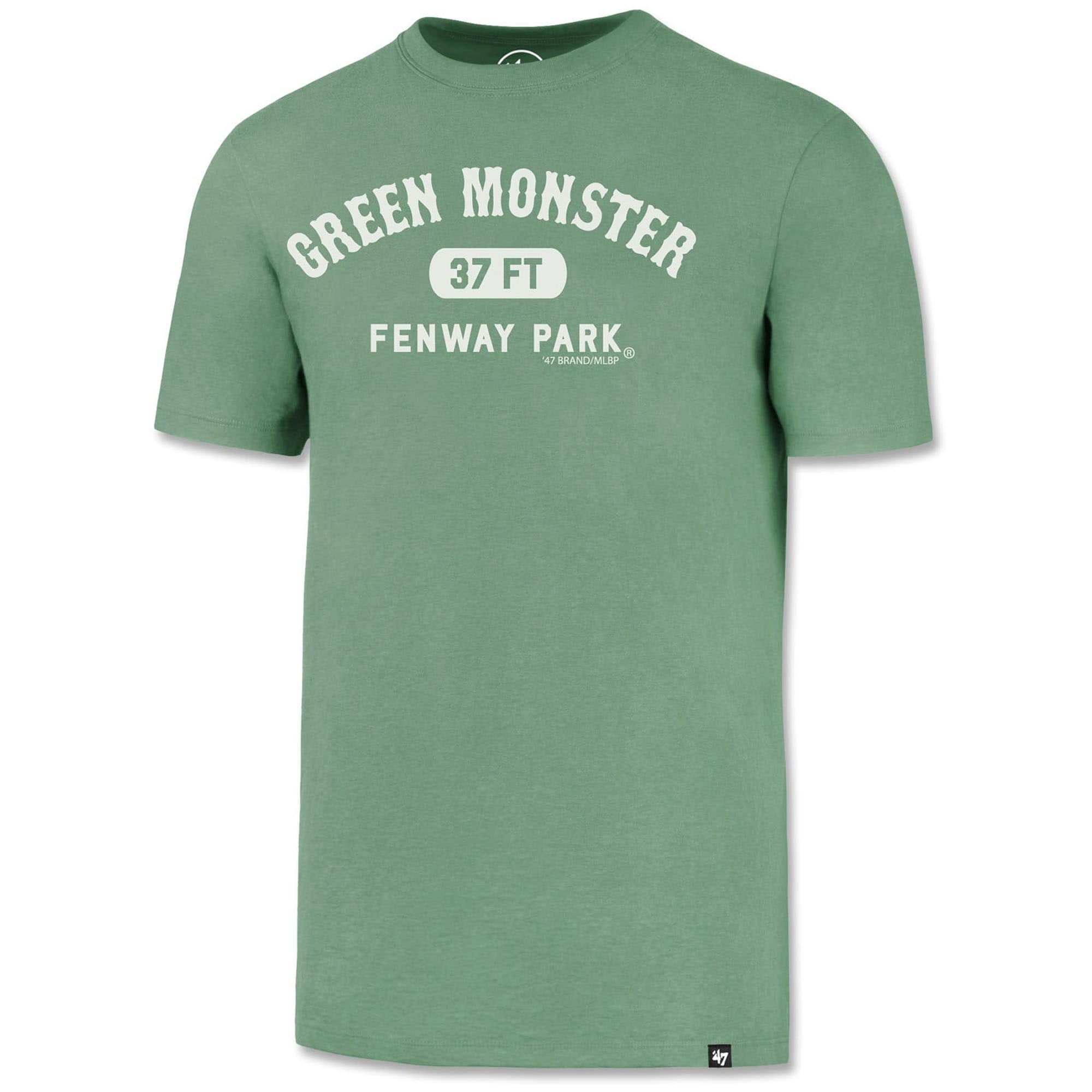 Boston Red Sox '47 Fenway Park Green Monster 37 Feet T-Shirt - Green