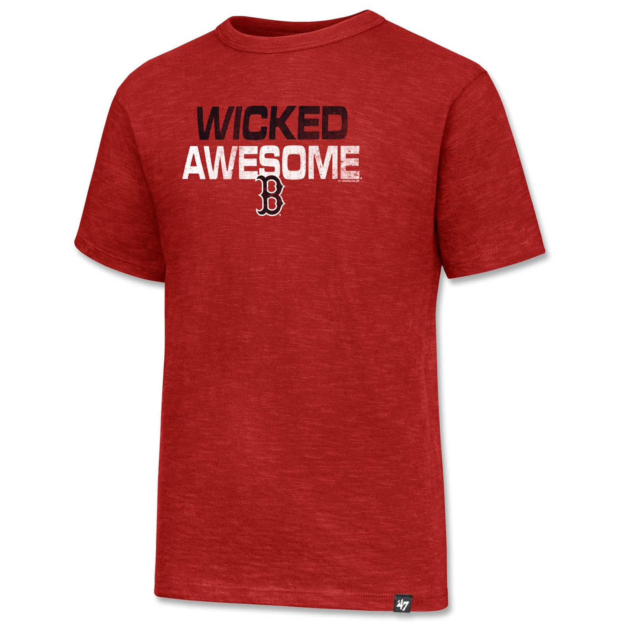 Boston Red Sox '47 Youth Wicked Awesome T-Shirt - Red