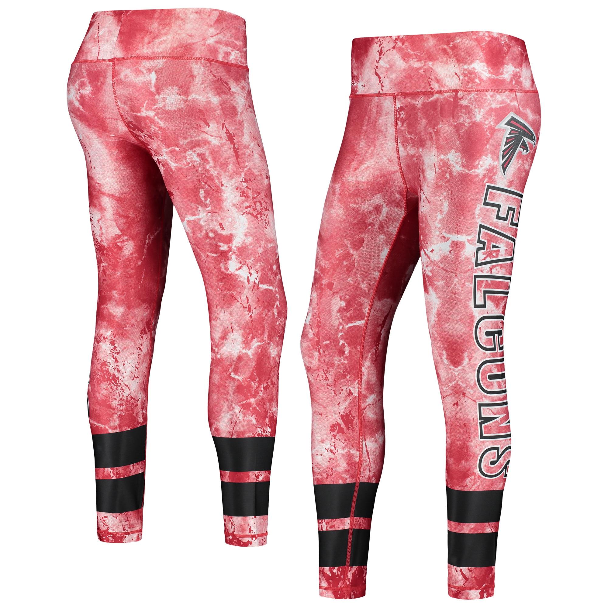 Atlanta Falcons Concepts Sport Women's Dormer Knit Leggings - Red/Black