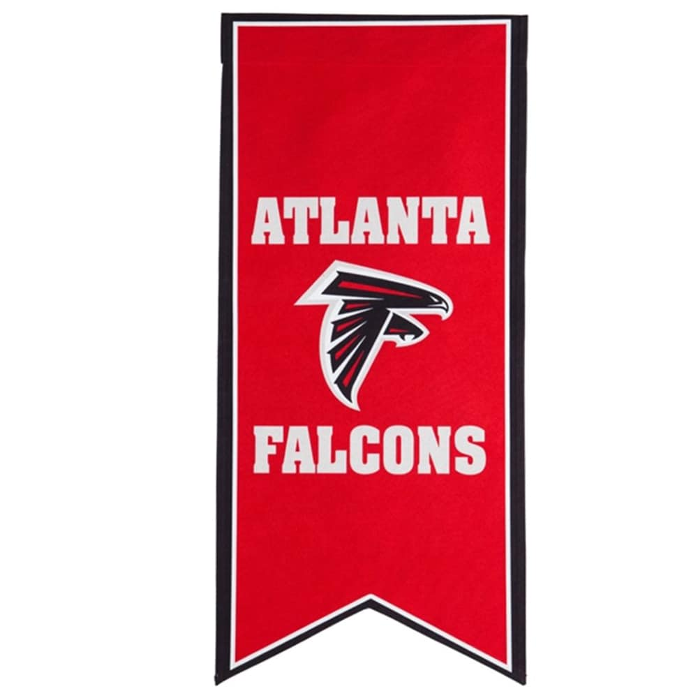 Atlanta Falcons 12.5'' x 28'' Flag Banner