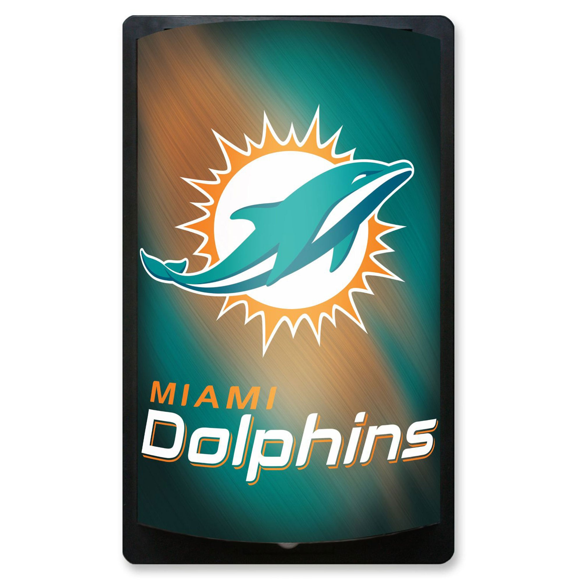 Miami Dolphins 12.5'' x 7.5'' MotiGlow Sign