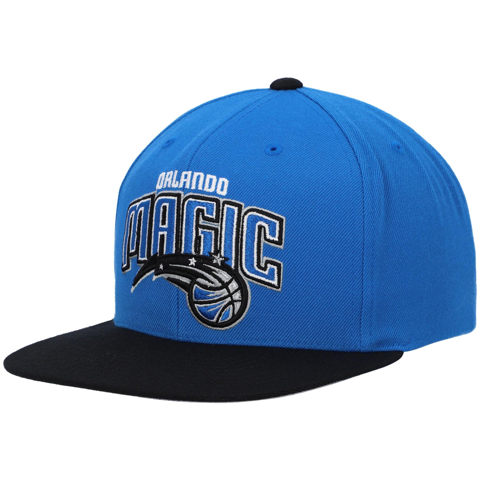 Orlando Magic Mitchell & Ness Two-Tone Wool Snapback Hat - Blue/Black