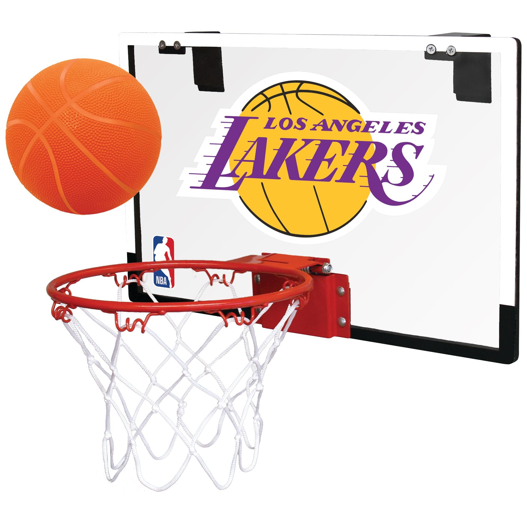 Los Angeles Lakers Rawlings NBA Polycarbonate Hoop Set